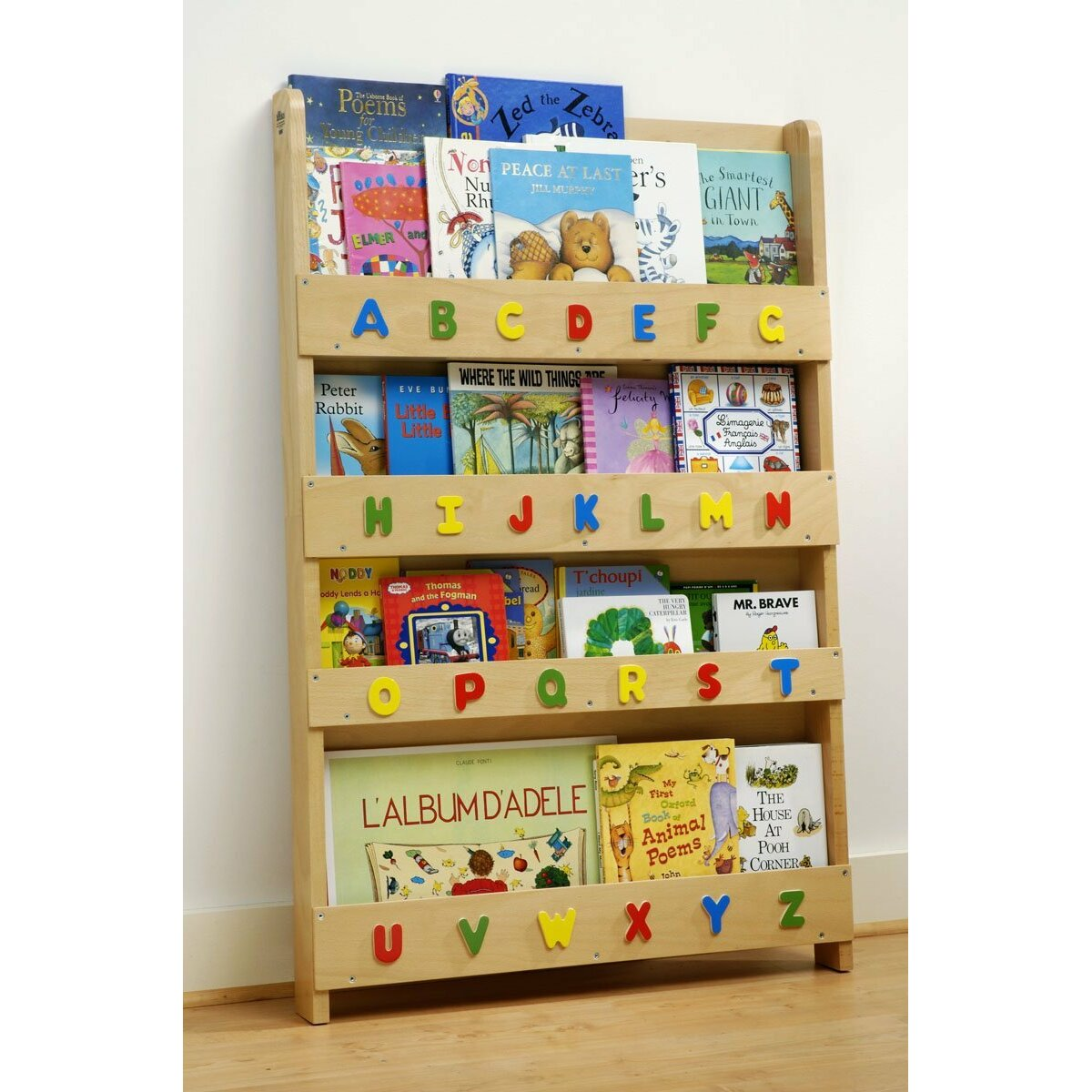tidy books the tidy children 39 s 115cm book display wayfair uk. Black Bedroom Furniture Sets. Home Design Ideas