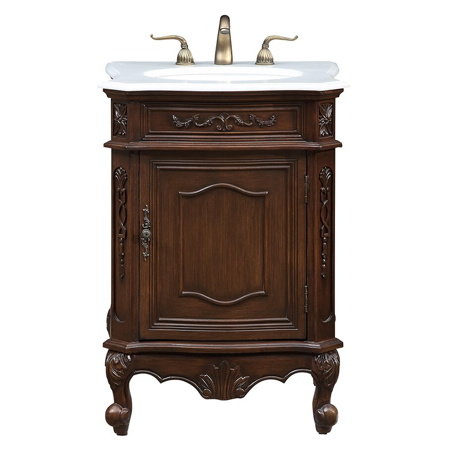 elegant lighting berkshire 24 single bathroom vanity set
