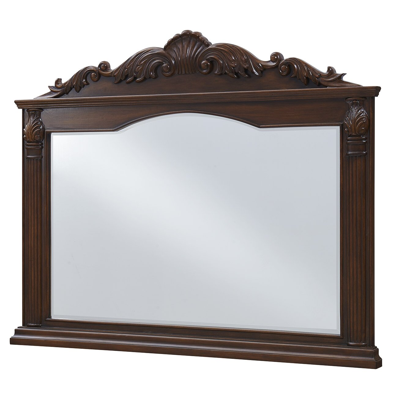 Elegant lighting windsor wall mirror wayfair for Elegant mirrors