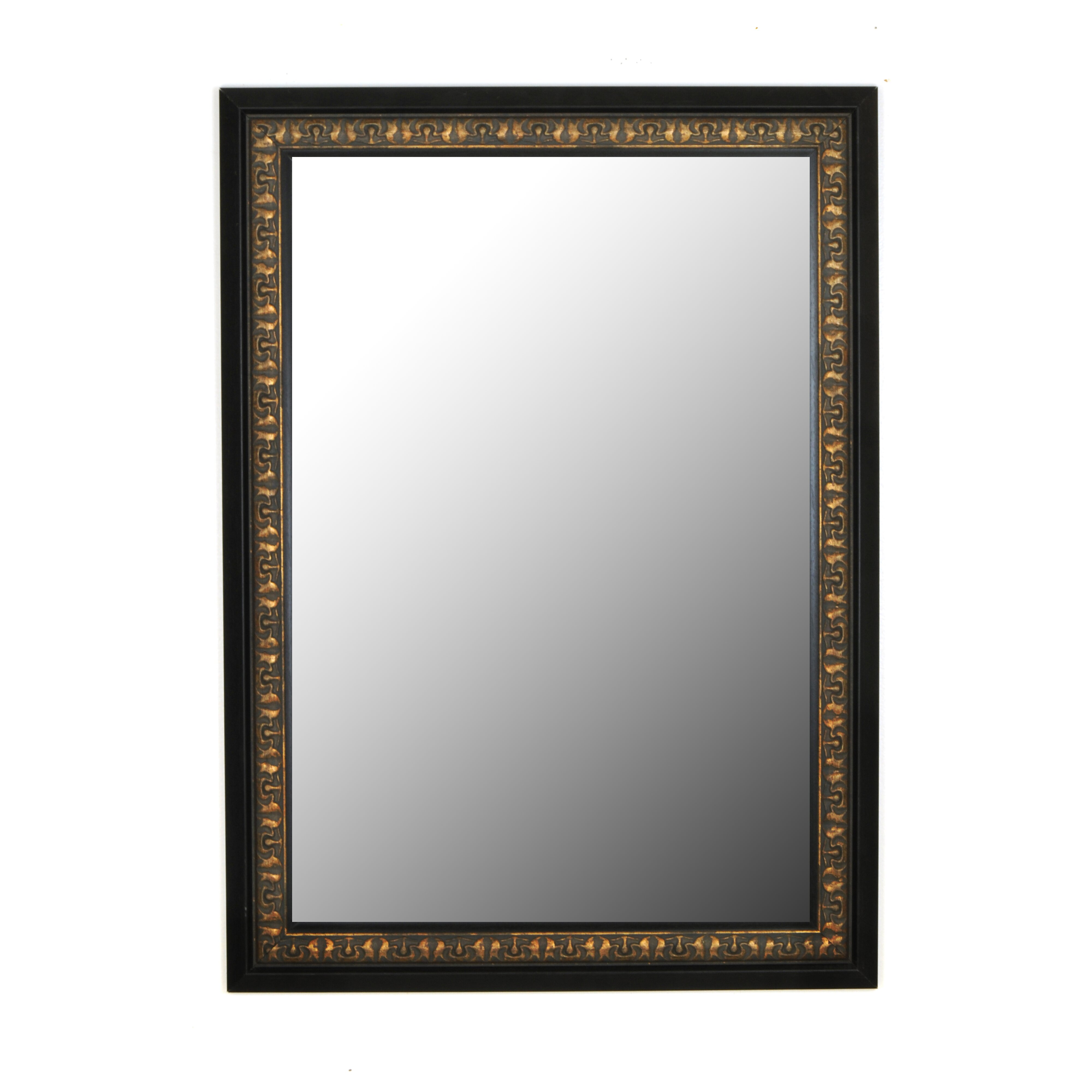 Second look mirrors mumbai copper gold black surround for Mirror that look