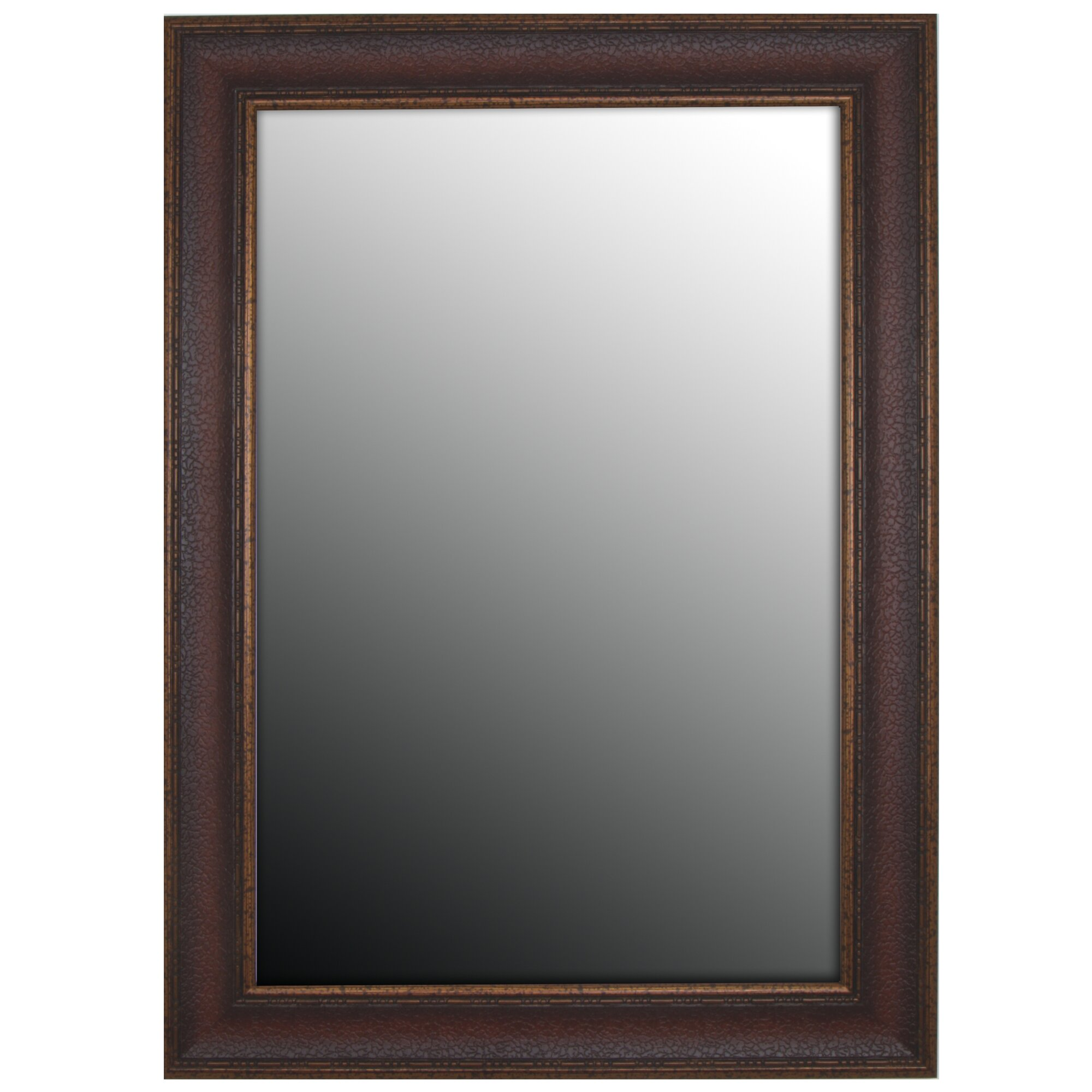 Second look mirrors copper embossed bronze wall mirror for Looking for wall mirrors