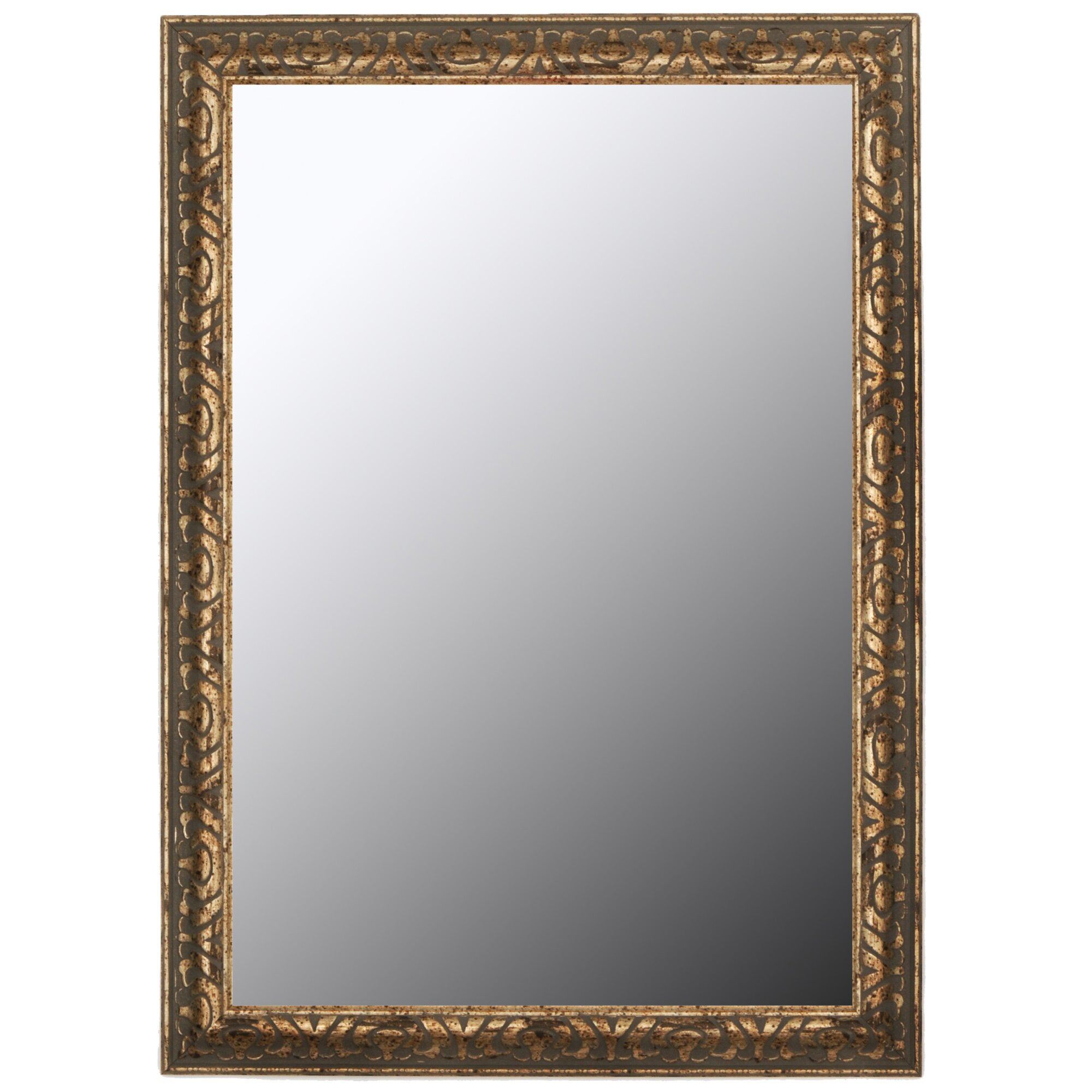 Second look mirrors classic aged silver and olde copper for Classic mirror