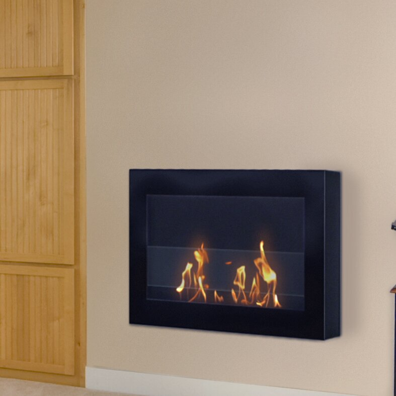 Anywhere Fireplaces Soho Wall Mount Bio Ethanol Fireplace