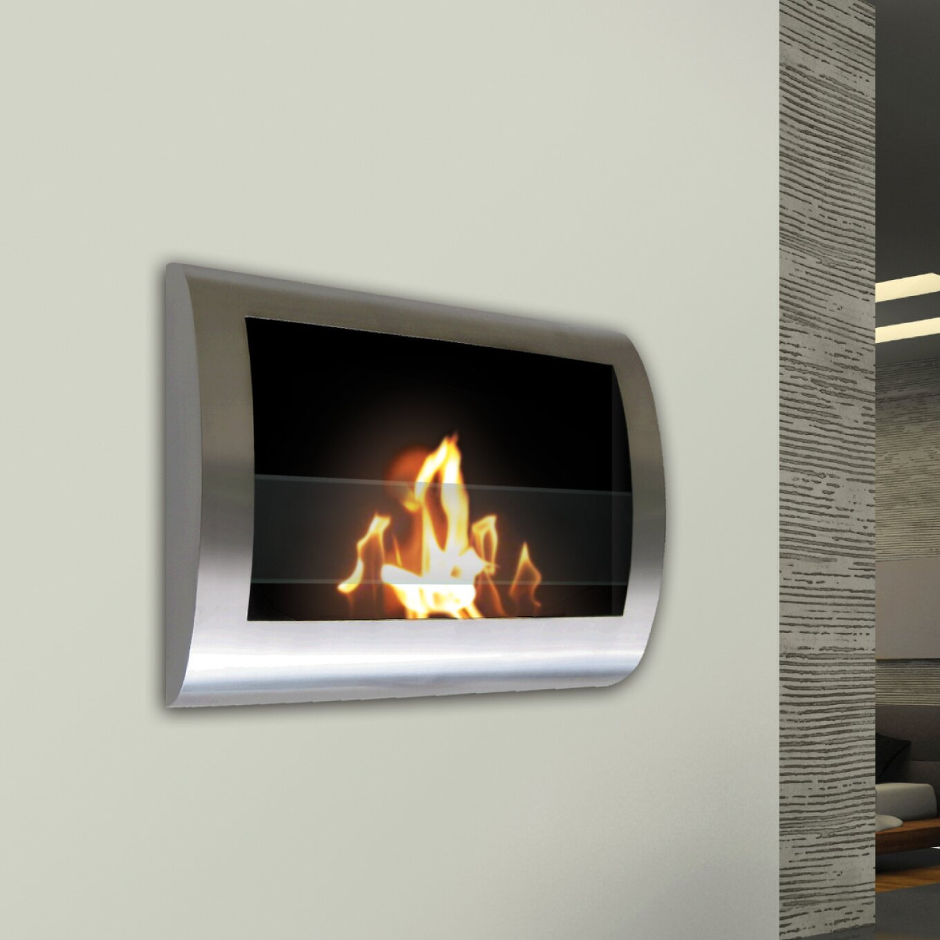 Anywhere Fireplaces Anywhere Fireplaces Chelsea Wall Mount