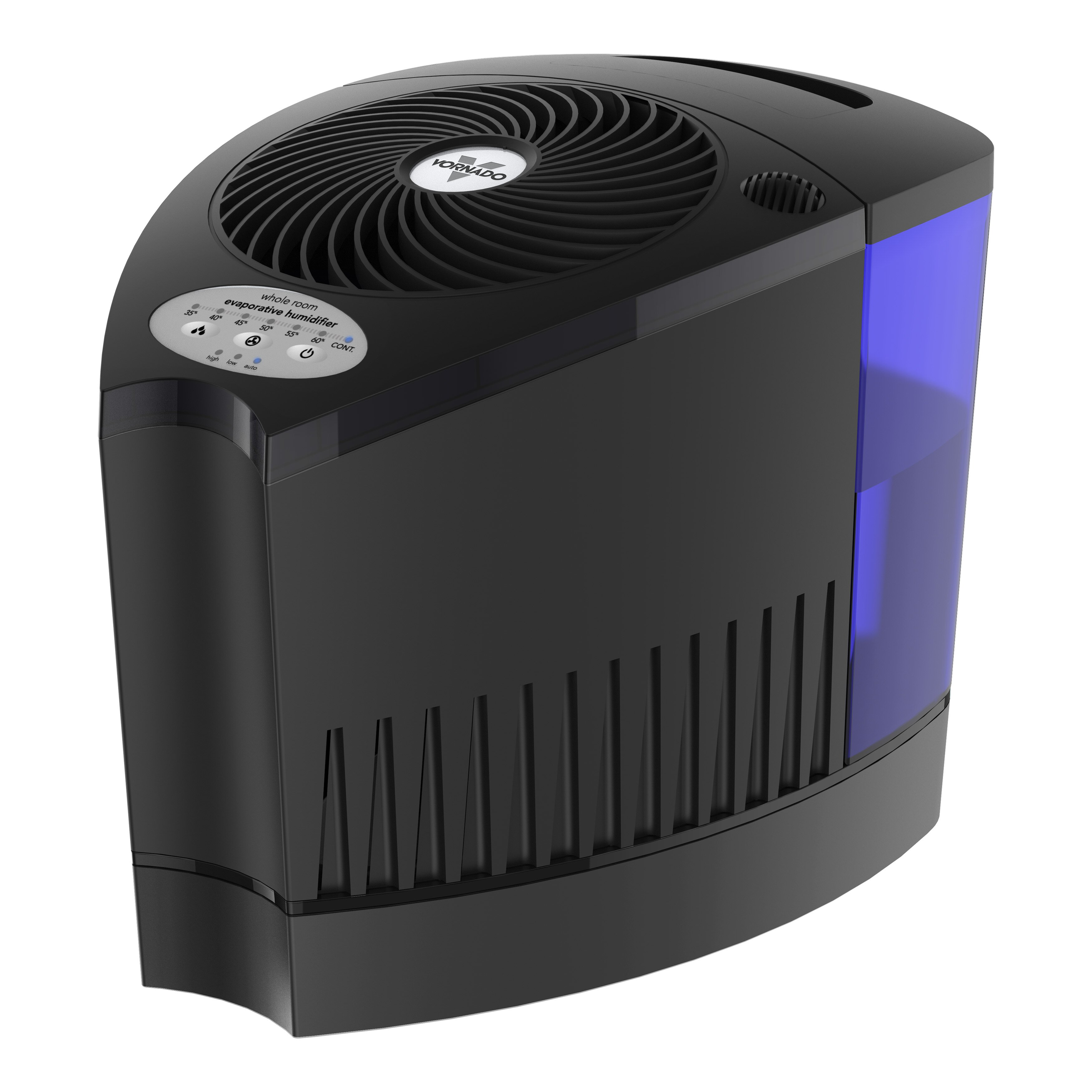 Vornado evap3 1 8 gal cool mist evaporative humidifier for Living room humidifier