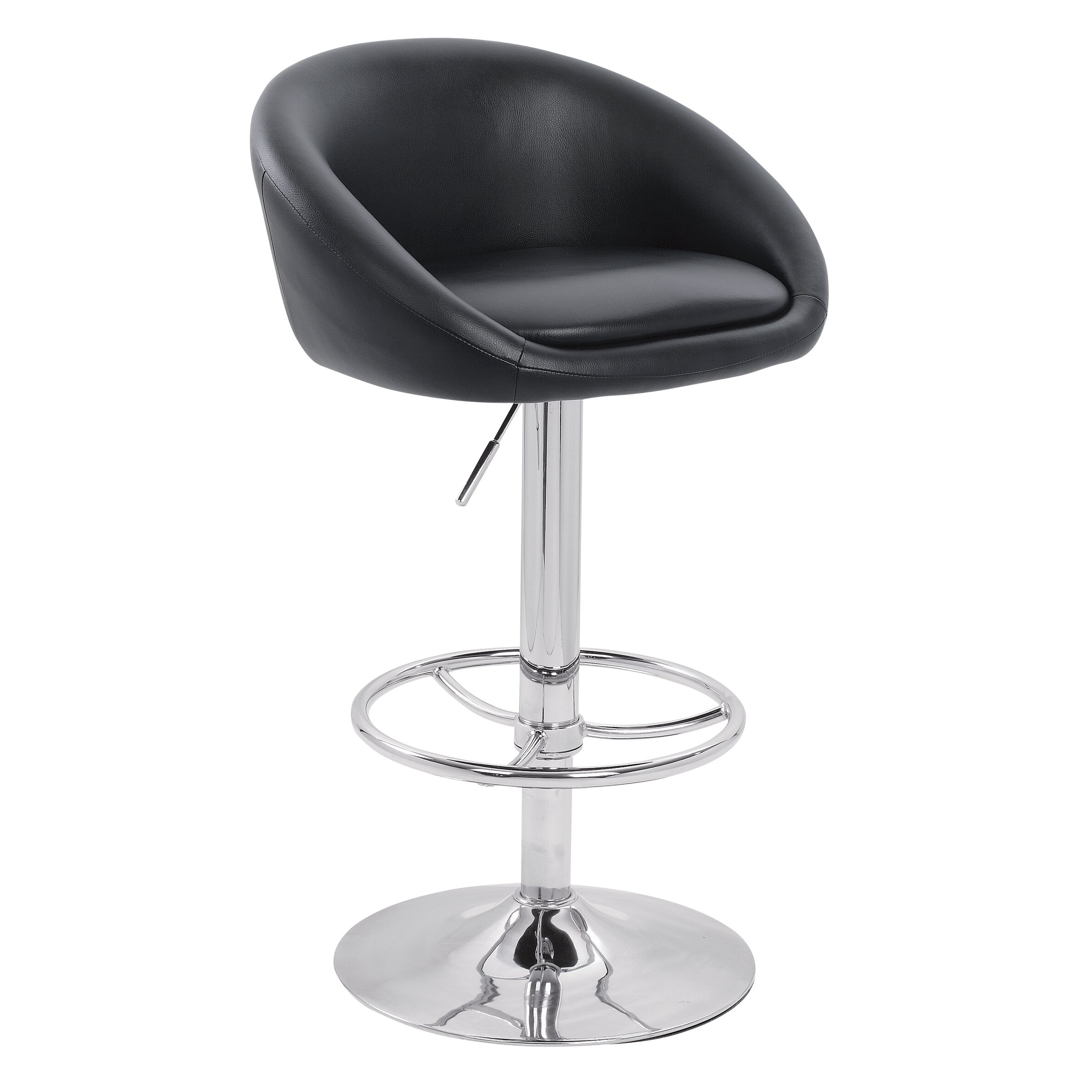 Lamboro Swivel Adjustable Bar Stool amp Reviews Wayfair UK : Lamboro Luca Adjustable Bar Stool with Step Luca from www.wayfair.co.uk size 2379 x 2379 jpeg 451kB