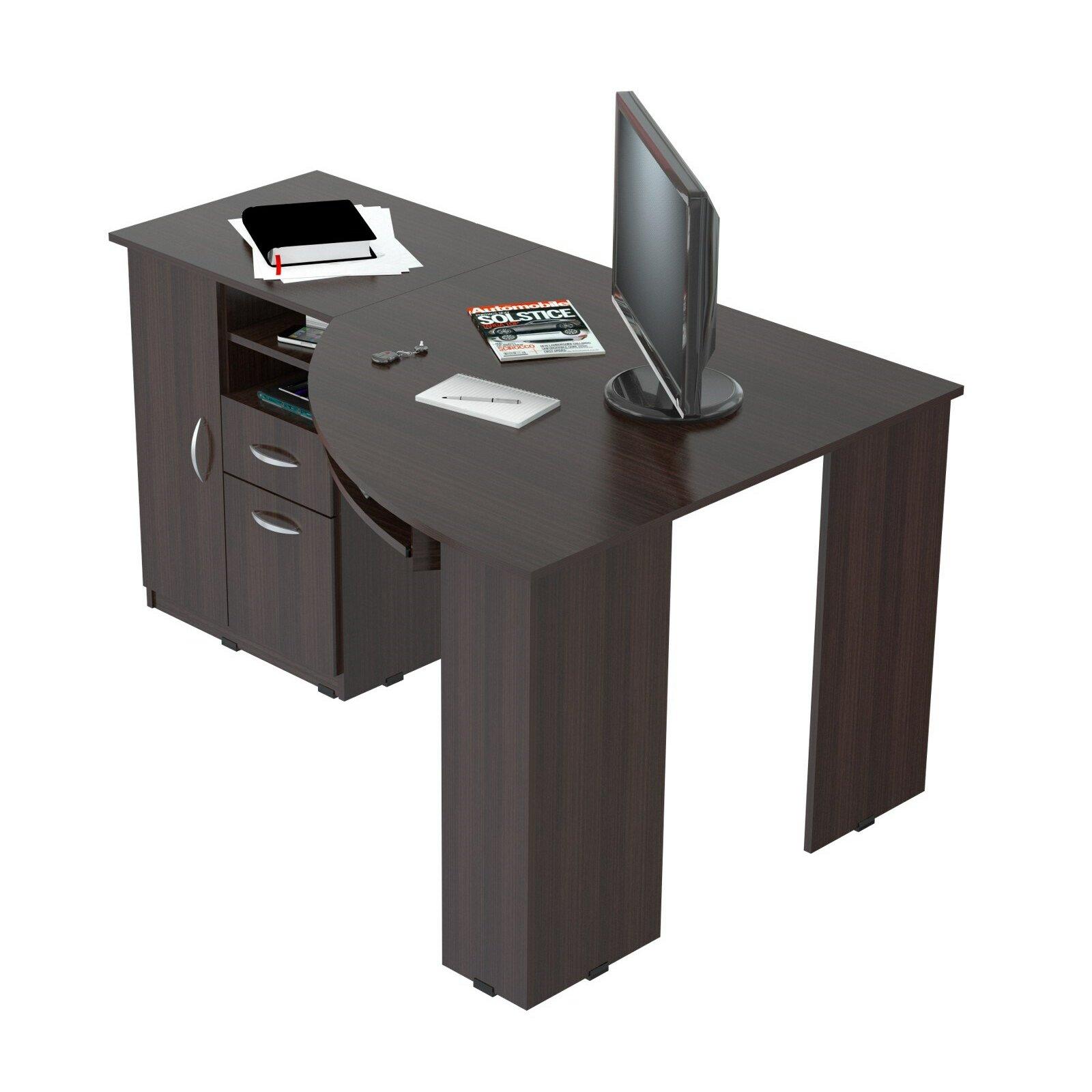 Inval Corner Computer Desk Reviews Wayfair