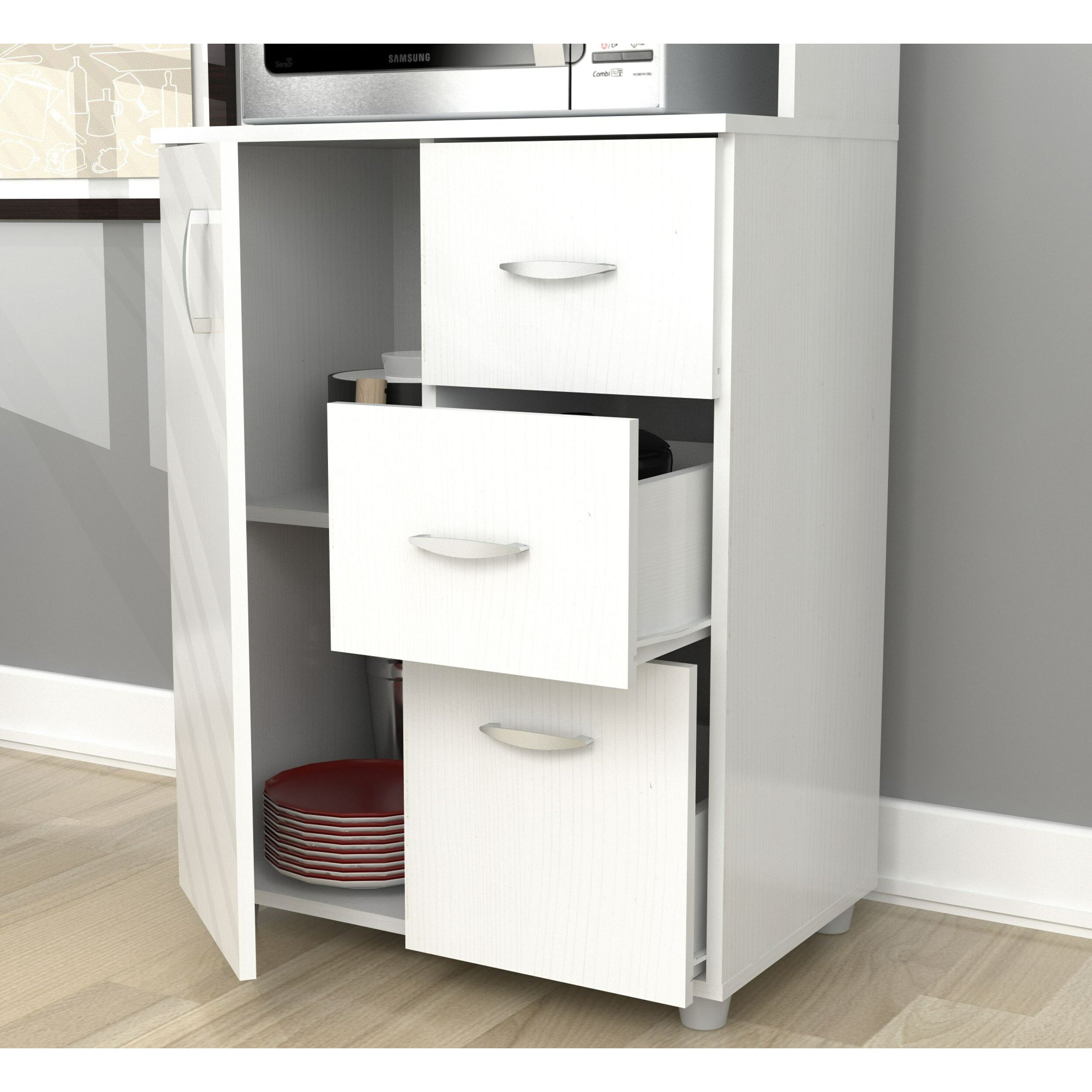 Inval inval kitchen cabinet reviews wayfair for Wayfair kitchen cabinets