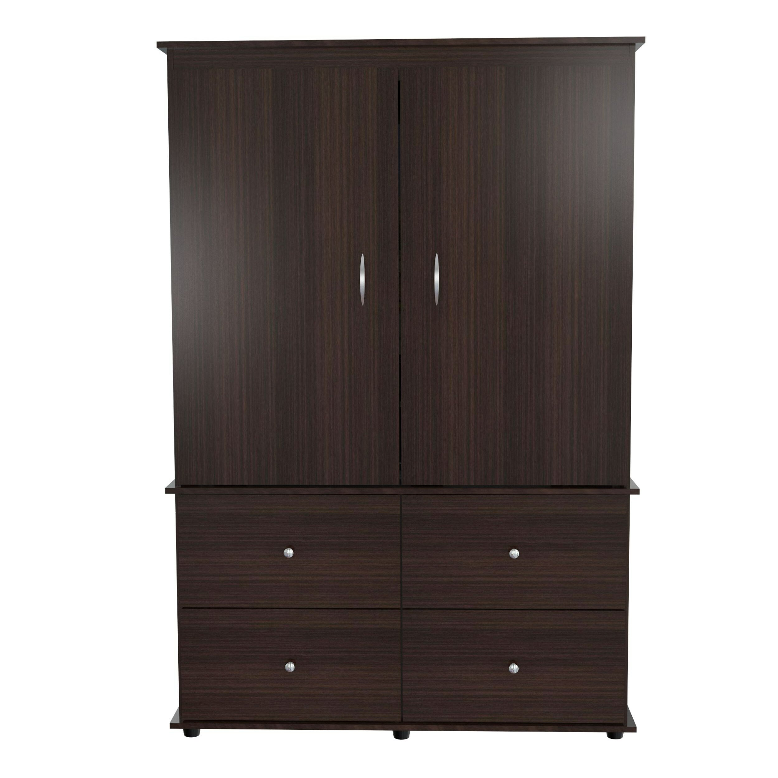 inval inval armoire reviews wayfair. Black Bedroom Furniture Sets. Home Design Ideas