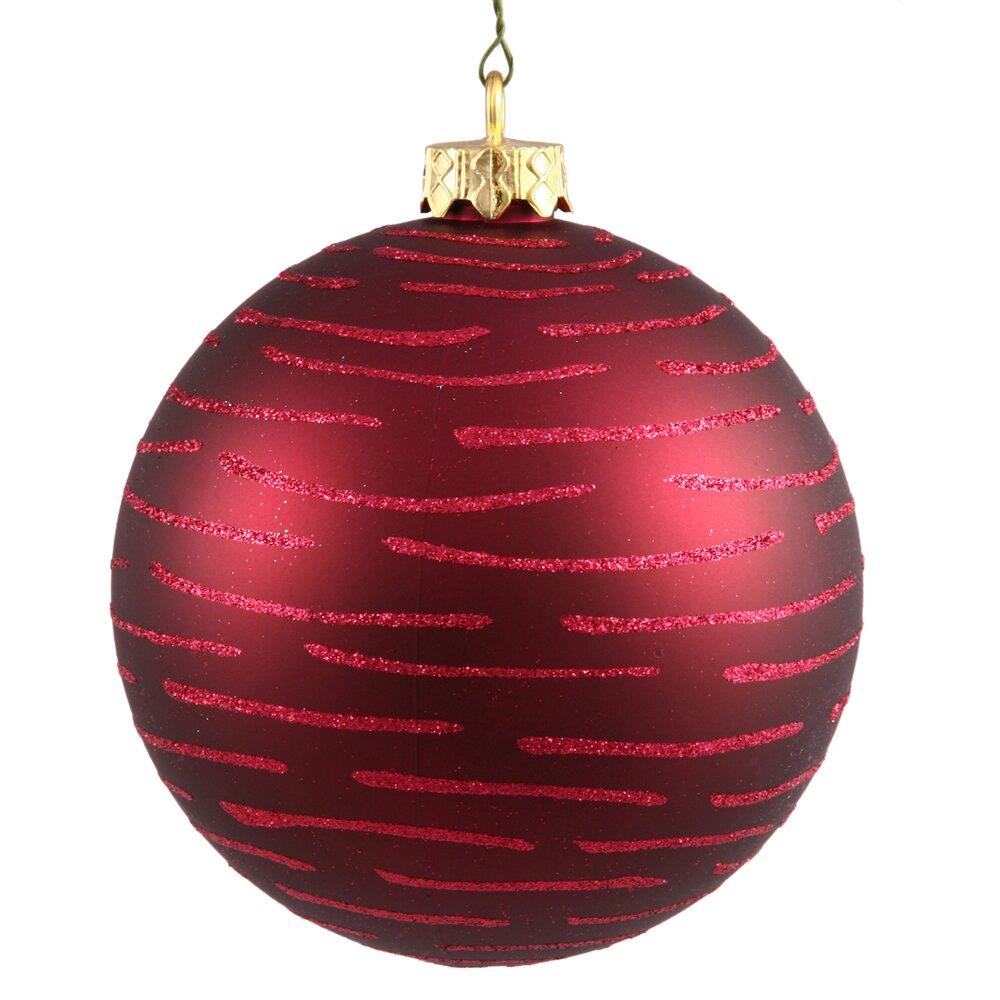 Christmas Ornaments: Vickerman Ball Christmas Ornament & Reviews