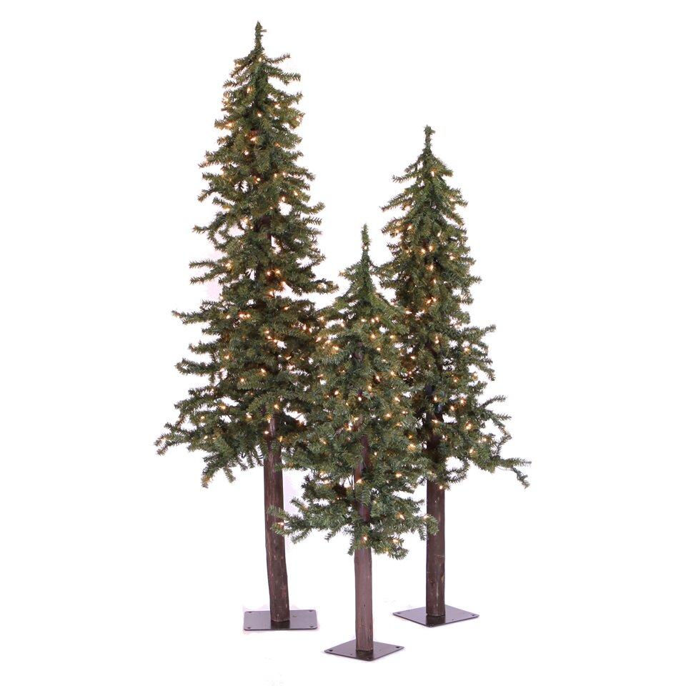 Vickerman natural alpine green artificial christmas tree