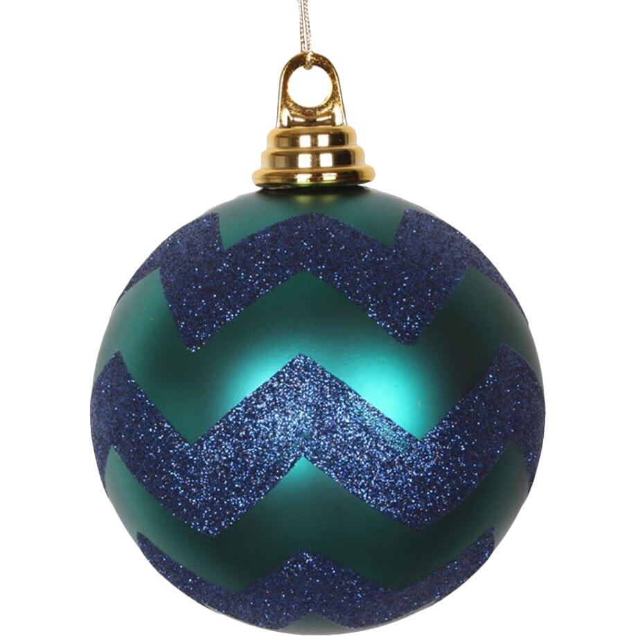 Christmas Glitter Ball Ornaments