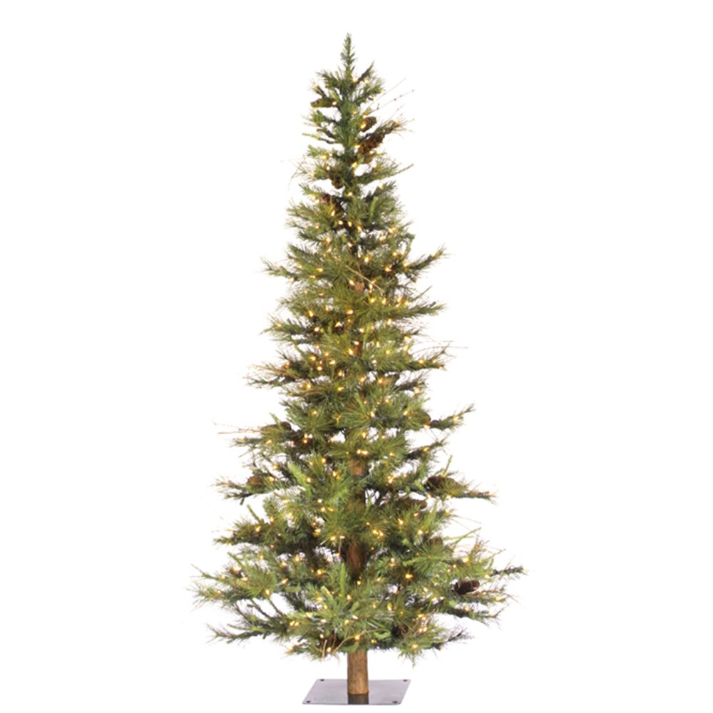Vickerman Ashland Fir 4 Green Fir Artificial Christmas