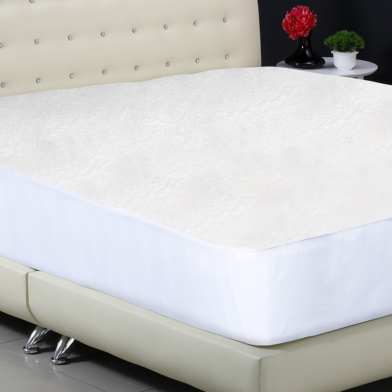 Protect a bed premium fitted mattress protector reviews for Bed bug and waterproof mattress protector