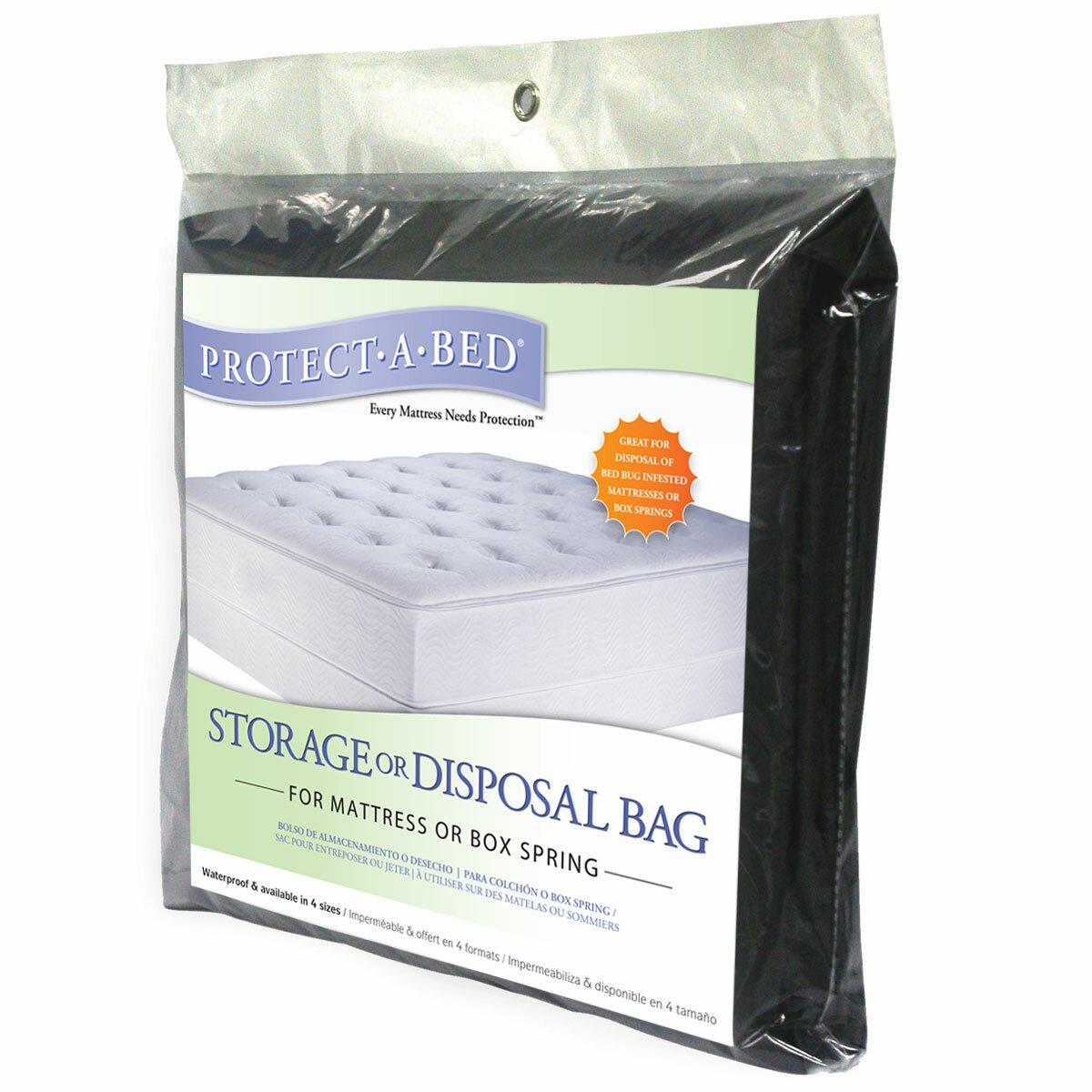 Protect A Bed Storage Disposal Waterproof Mattress