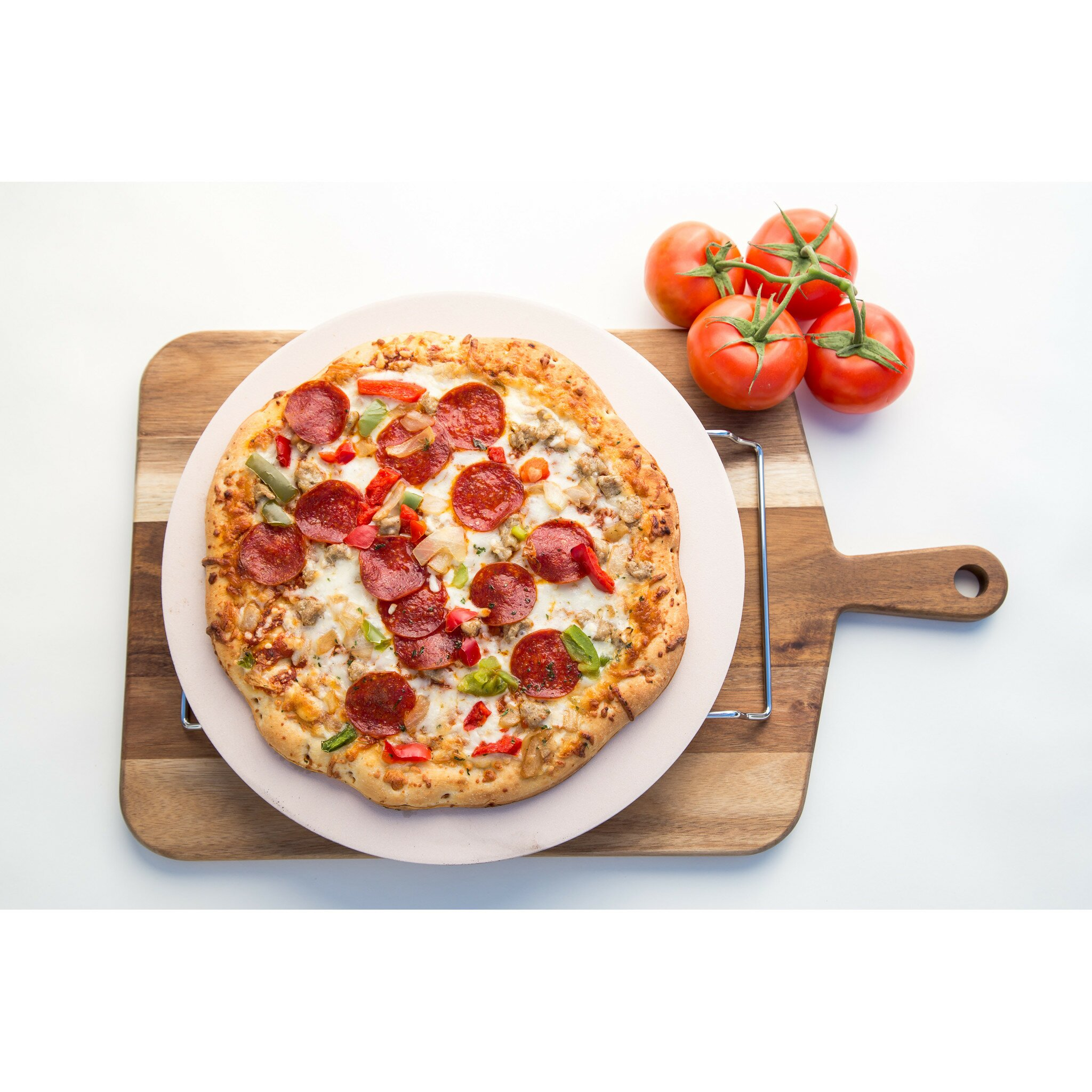 Jamie Oliver Jamie Oliver Pizza Stone And Serving Rack