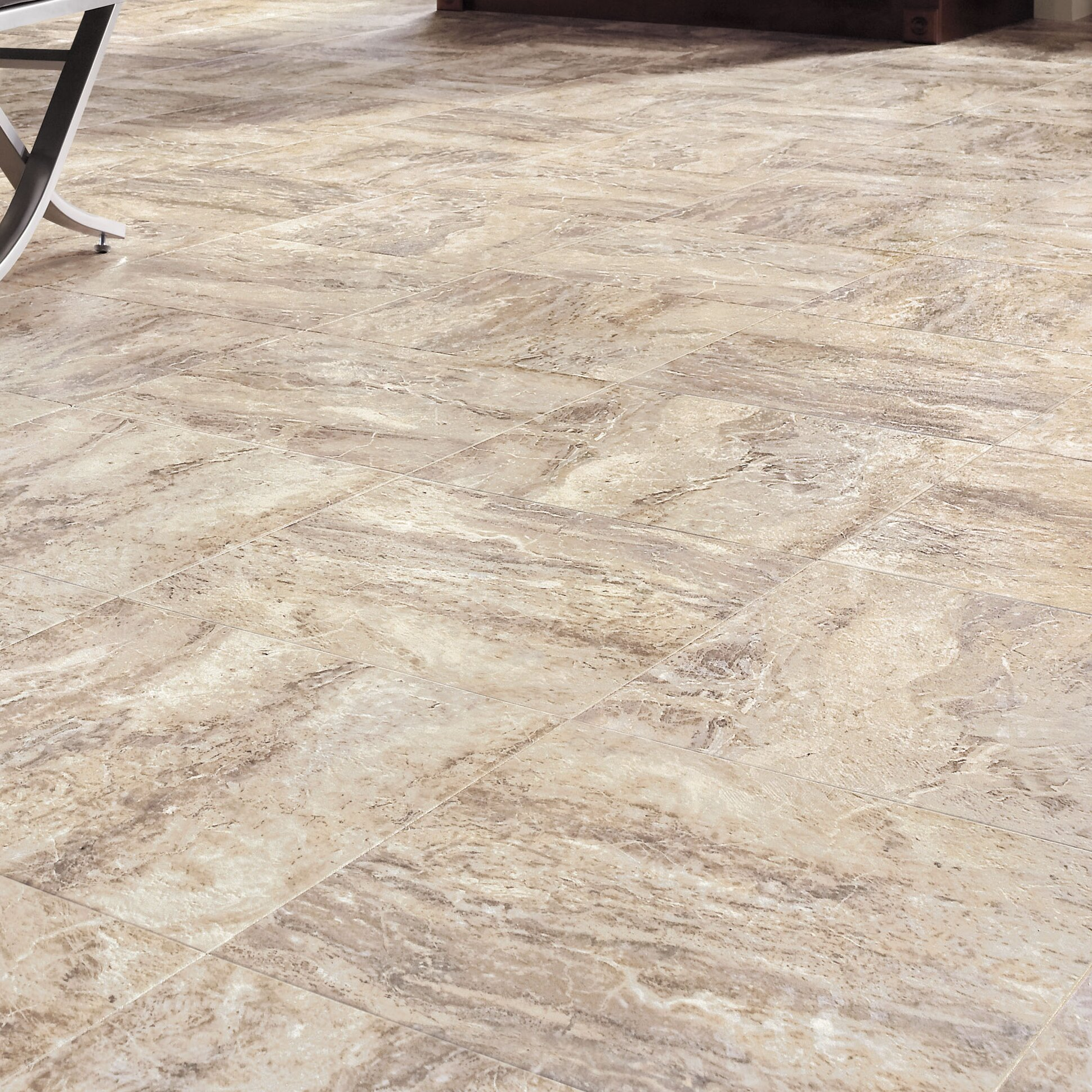 Congoleum Luxury Vinyl TileCongoleum DuraCeramic Roman Elegance - Durastone flooring reviews