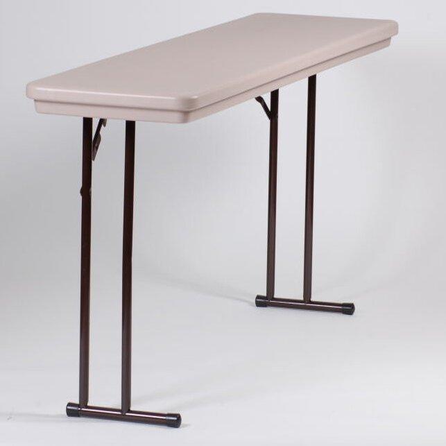 Correll Inc Rectangular Folding Table Wayfair Ca