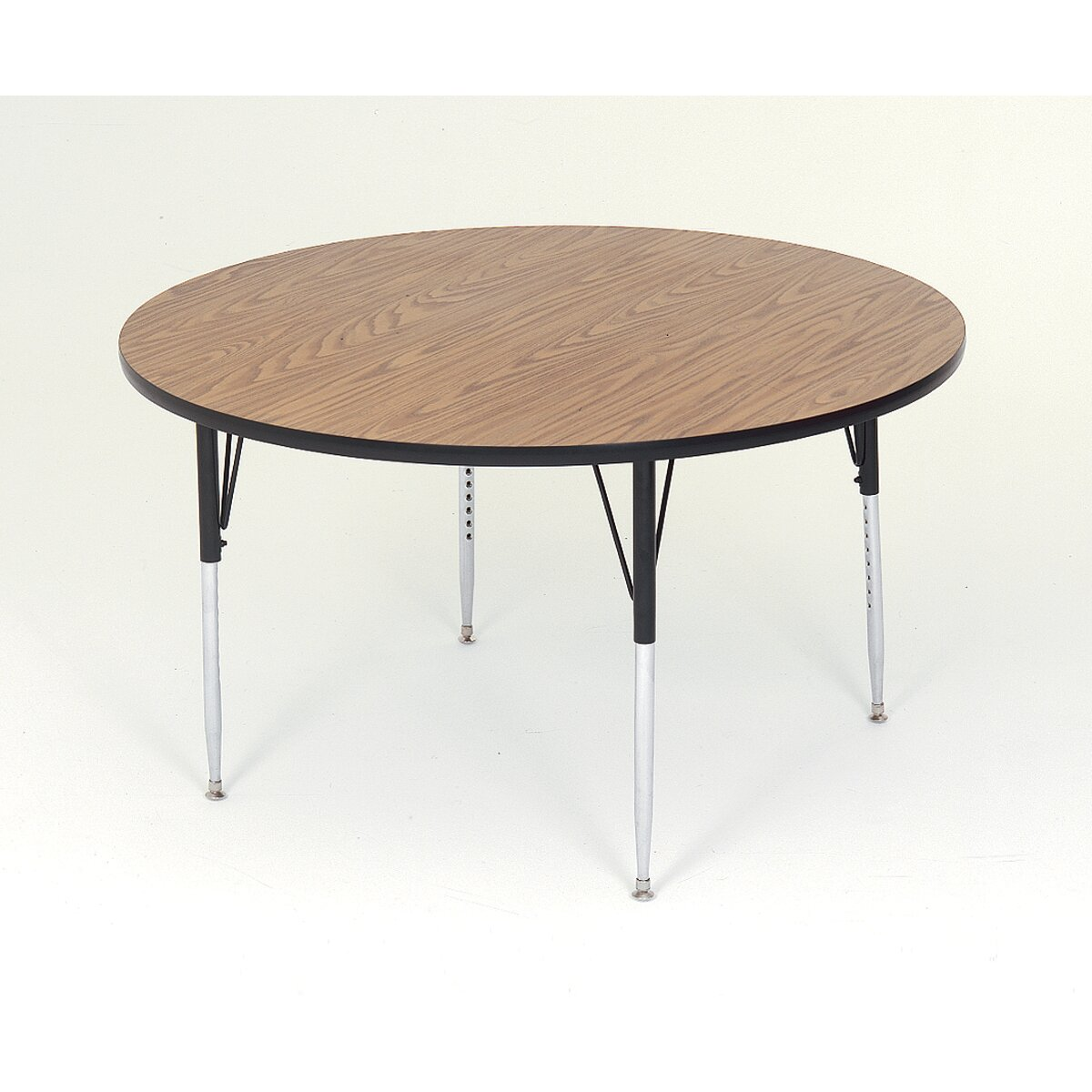 Correll inc 36 round activity table wayfair for Short table legs