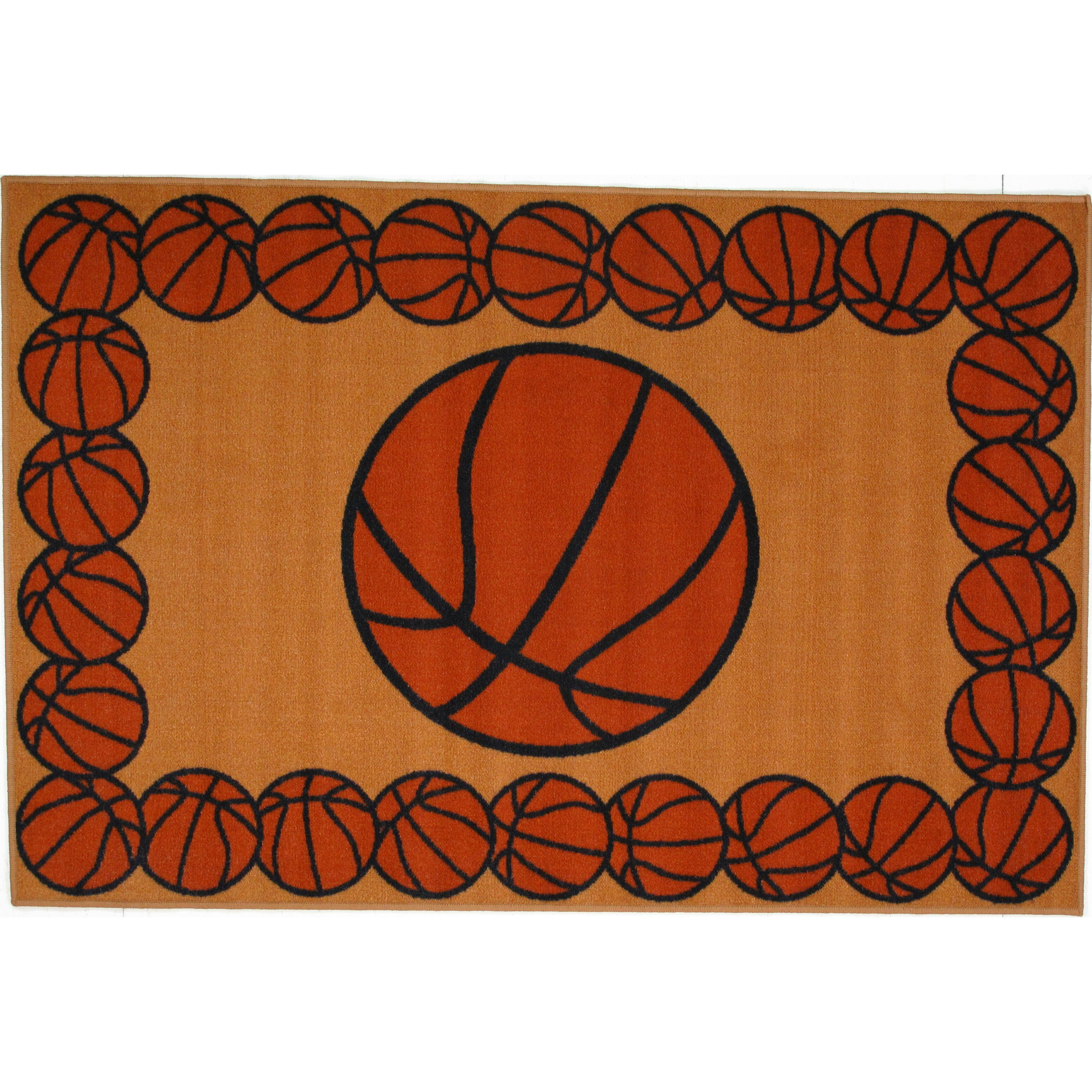 Fun Rugs Fun Time Basketball Time Area Rug & Reviews