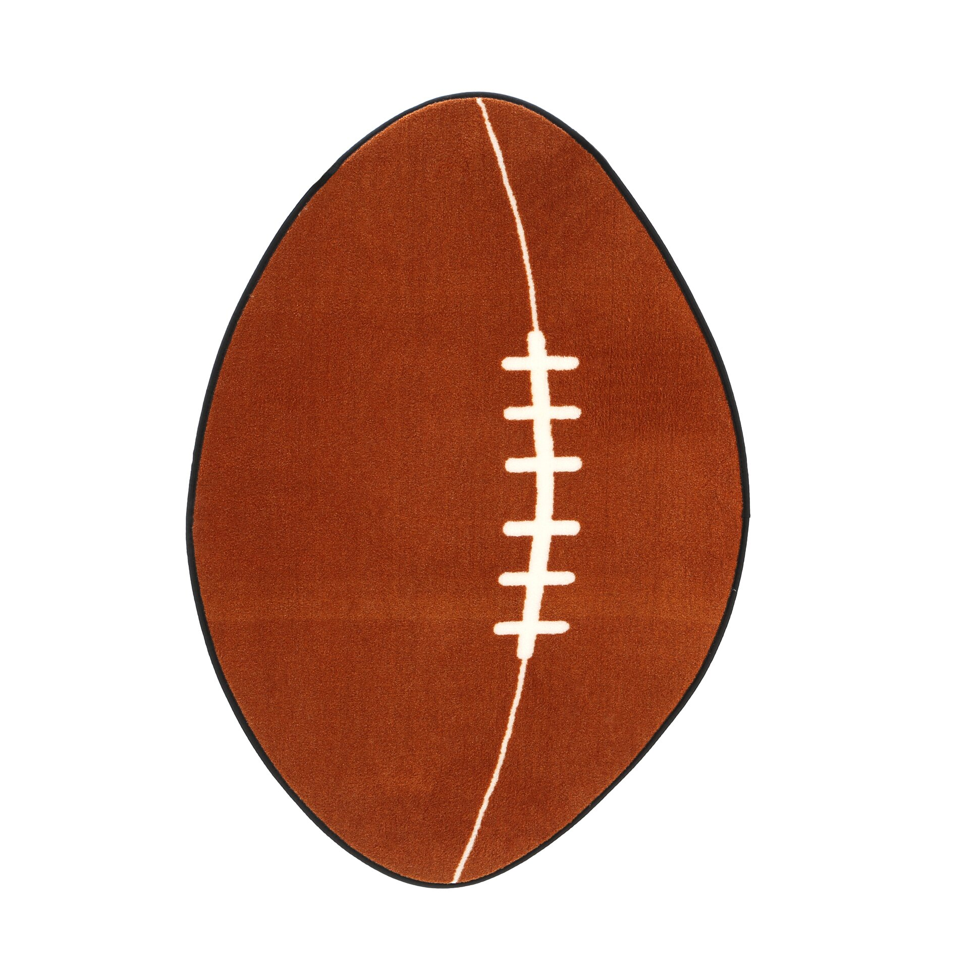 Fun Rugs Fun Shape Football Sports Area Rug & Reviews