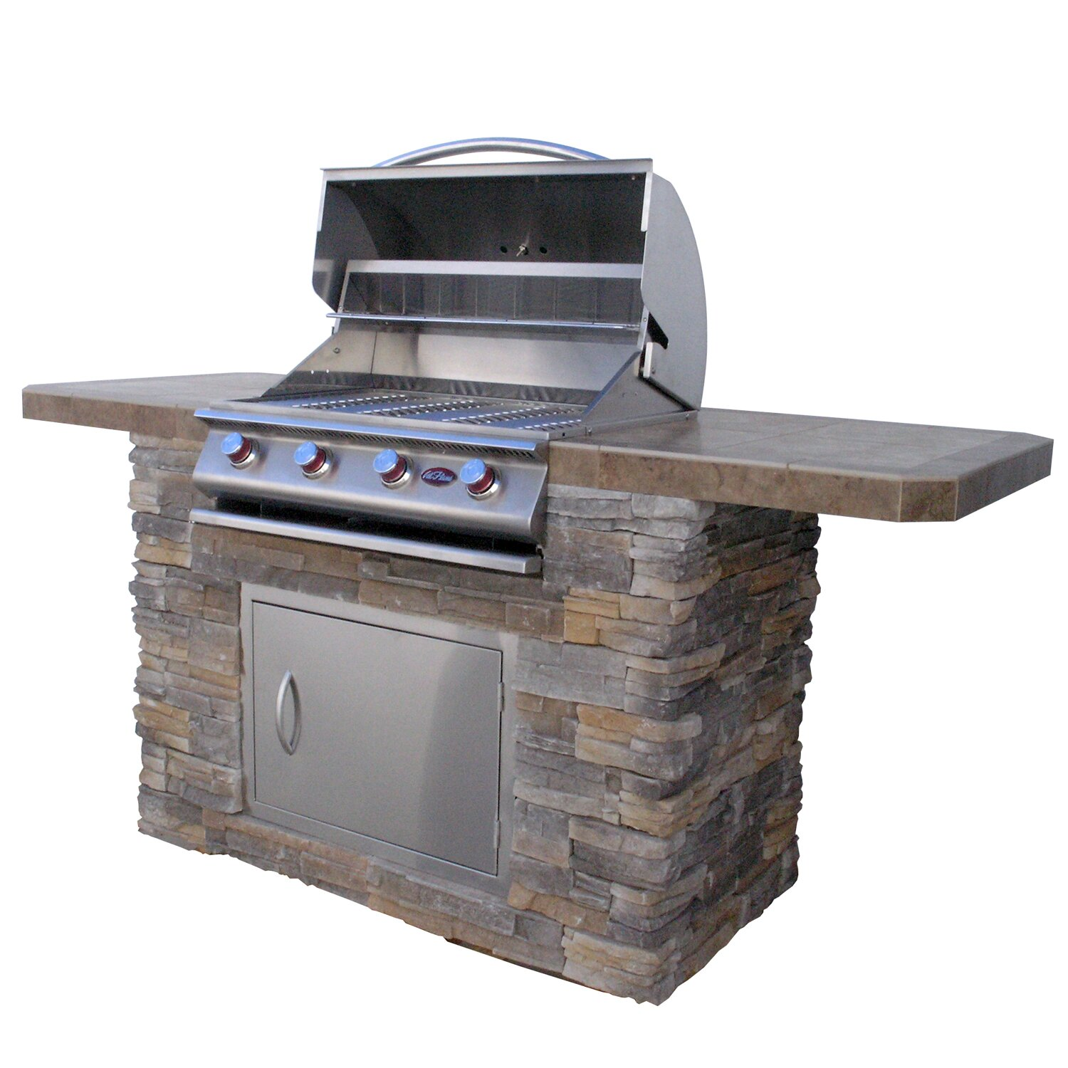 CalFlame 84 4 Burner Liquid Propane Gas Grill Wayfair