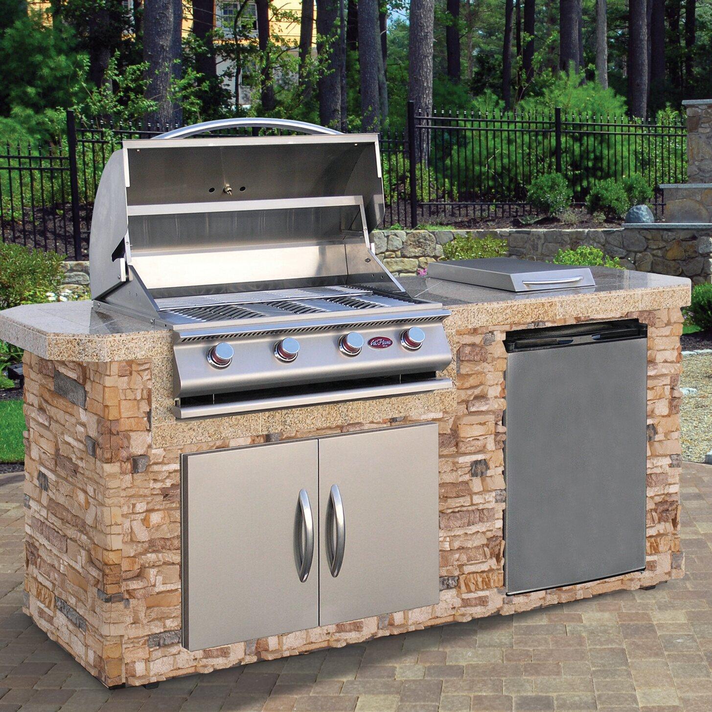 Outdoor Gas Barbecue Grills ~ Calflame quot burner liquid propane gas grill wayfair