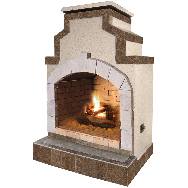 Calflame Propane Gas Outdoor Fireplace Reviews Wayfair