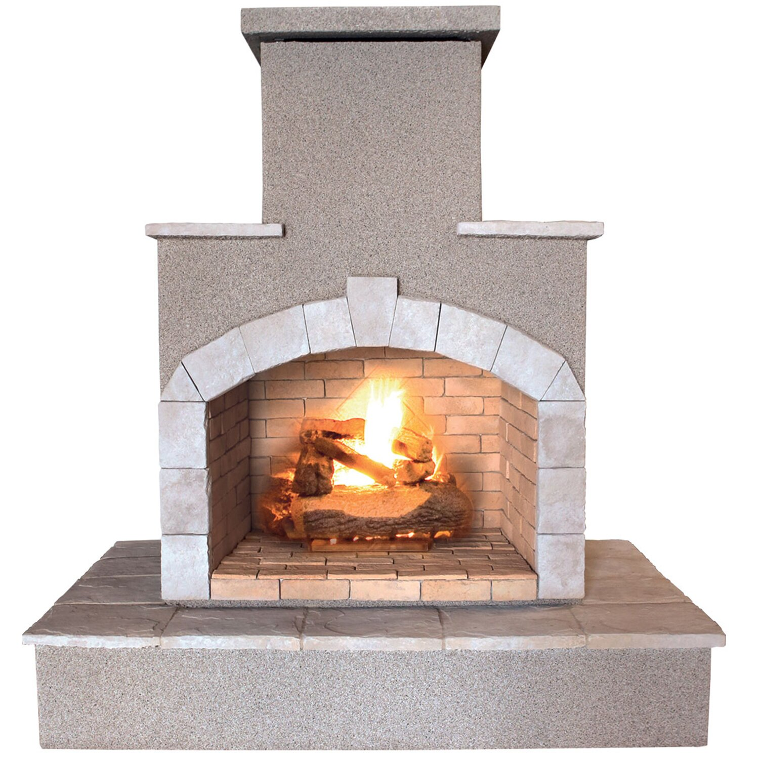 Calflame Propane Gas Outdoor Fireplace Reviews Wayfair