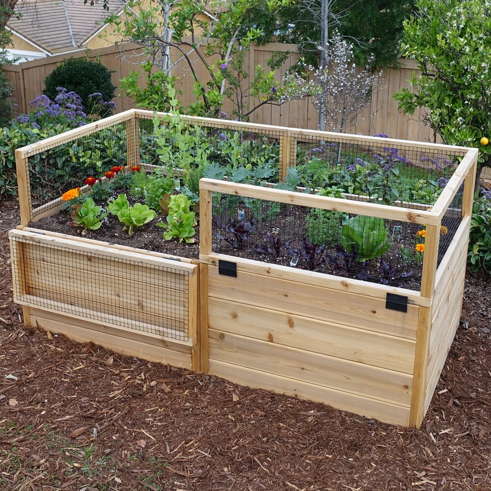 Outdoor Living Today Rectangular Raised Garden | Wayfair
