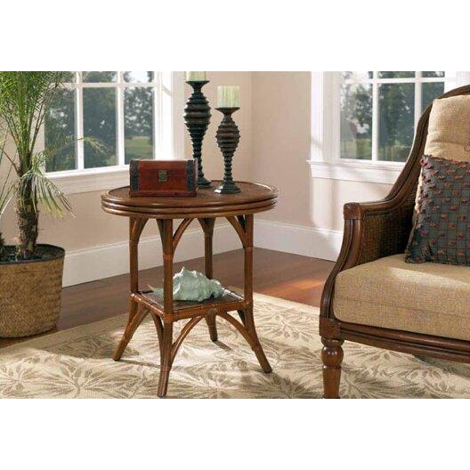 Boca rattan regency end table reviews wayfair for Rattan side tables living room