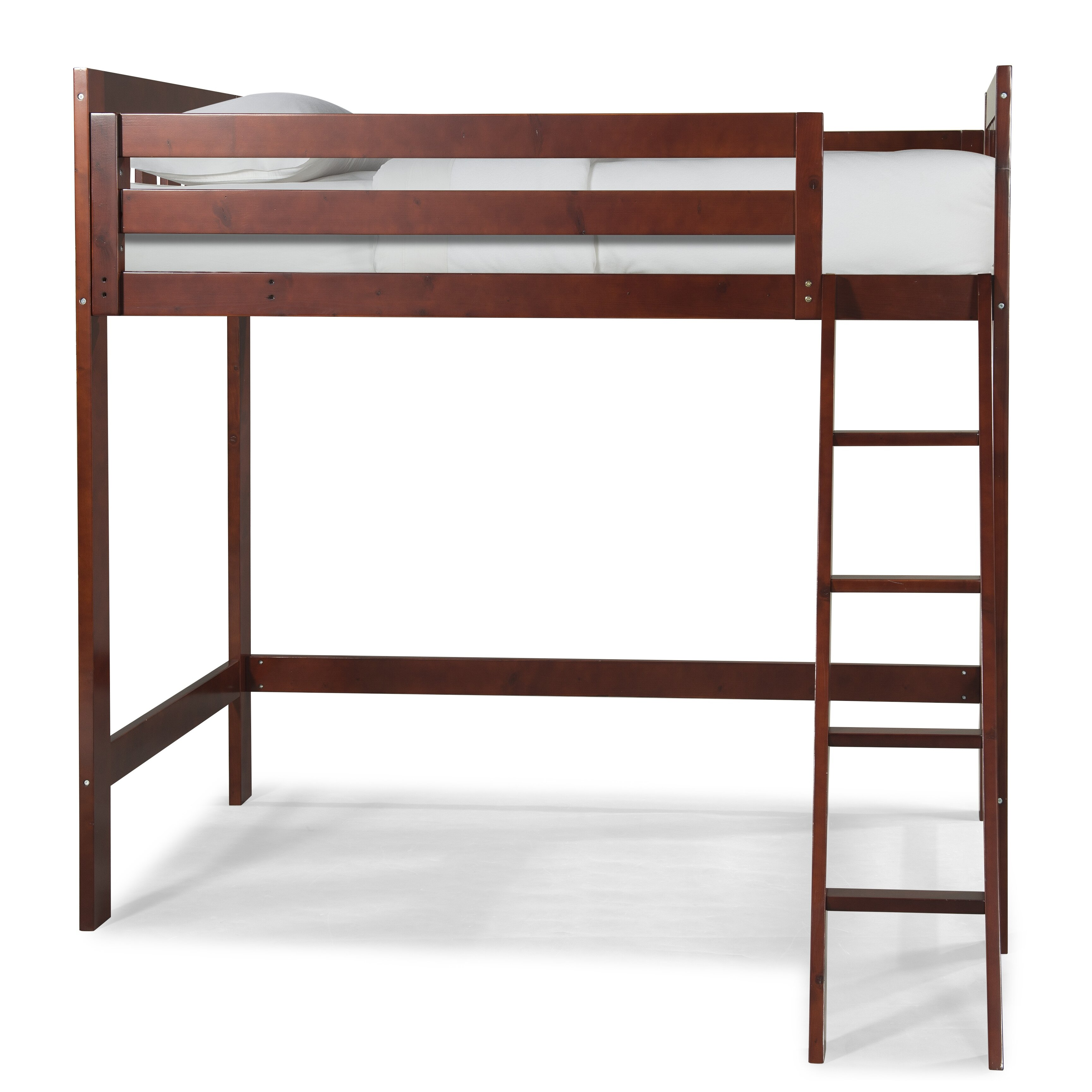 Canwood furniture lakecrest twin loft bed reviews wayfair - Loft furniture ...