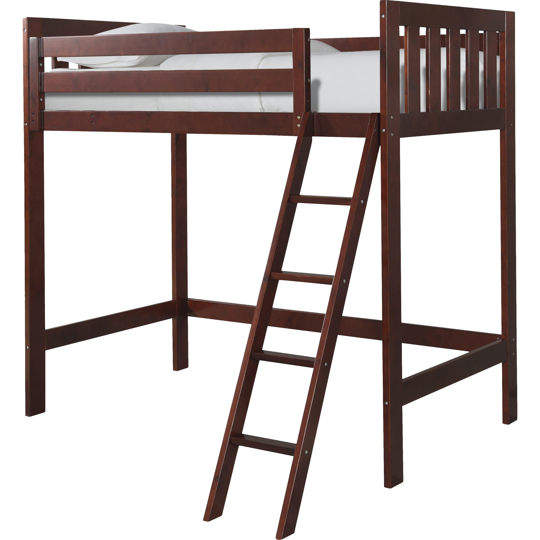 Canwood Furniture Lakecrest Twin Loft Bed Amp Reviews Wayfair