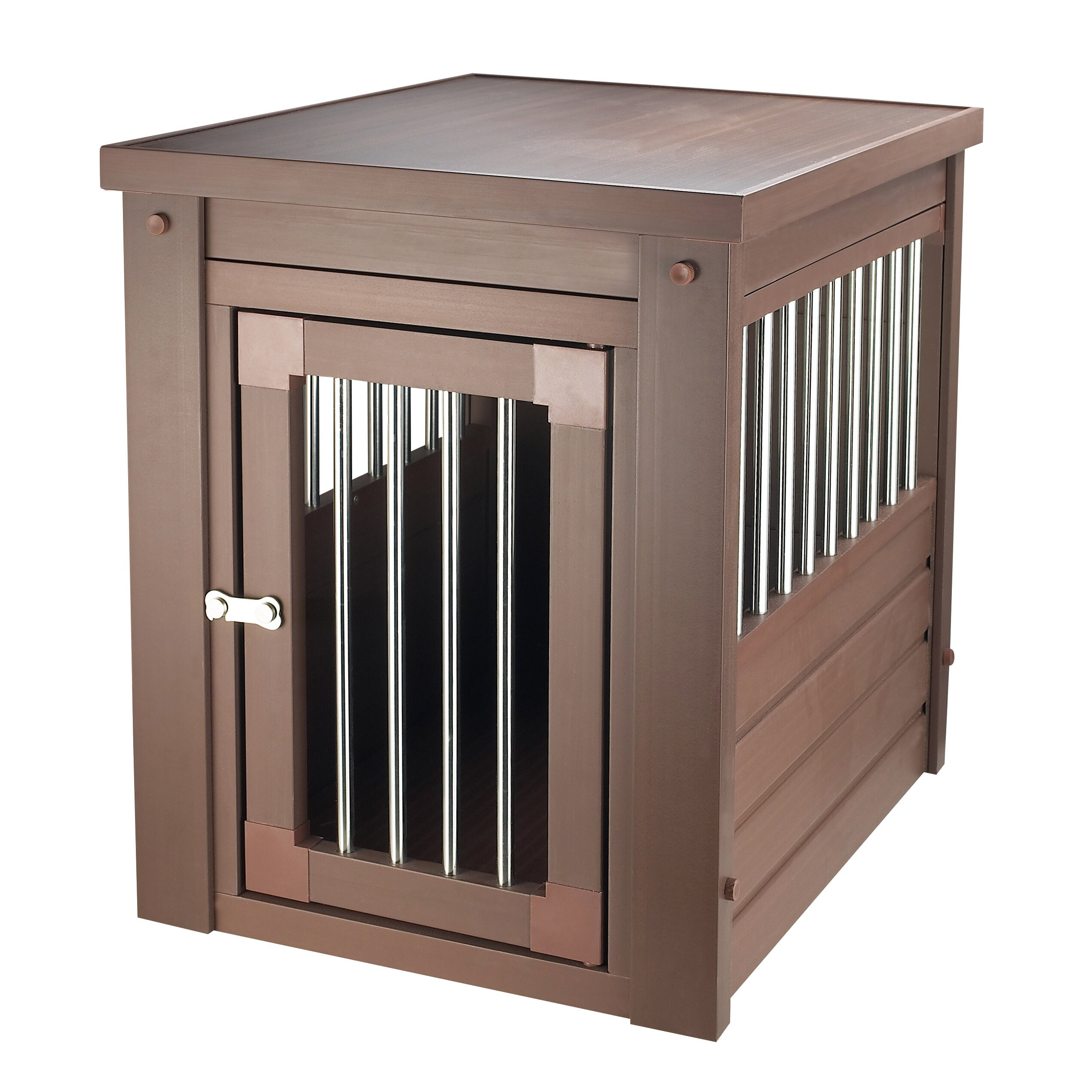 ecoflex pet crate end table by new age pet