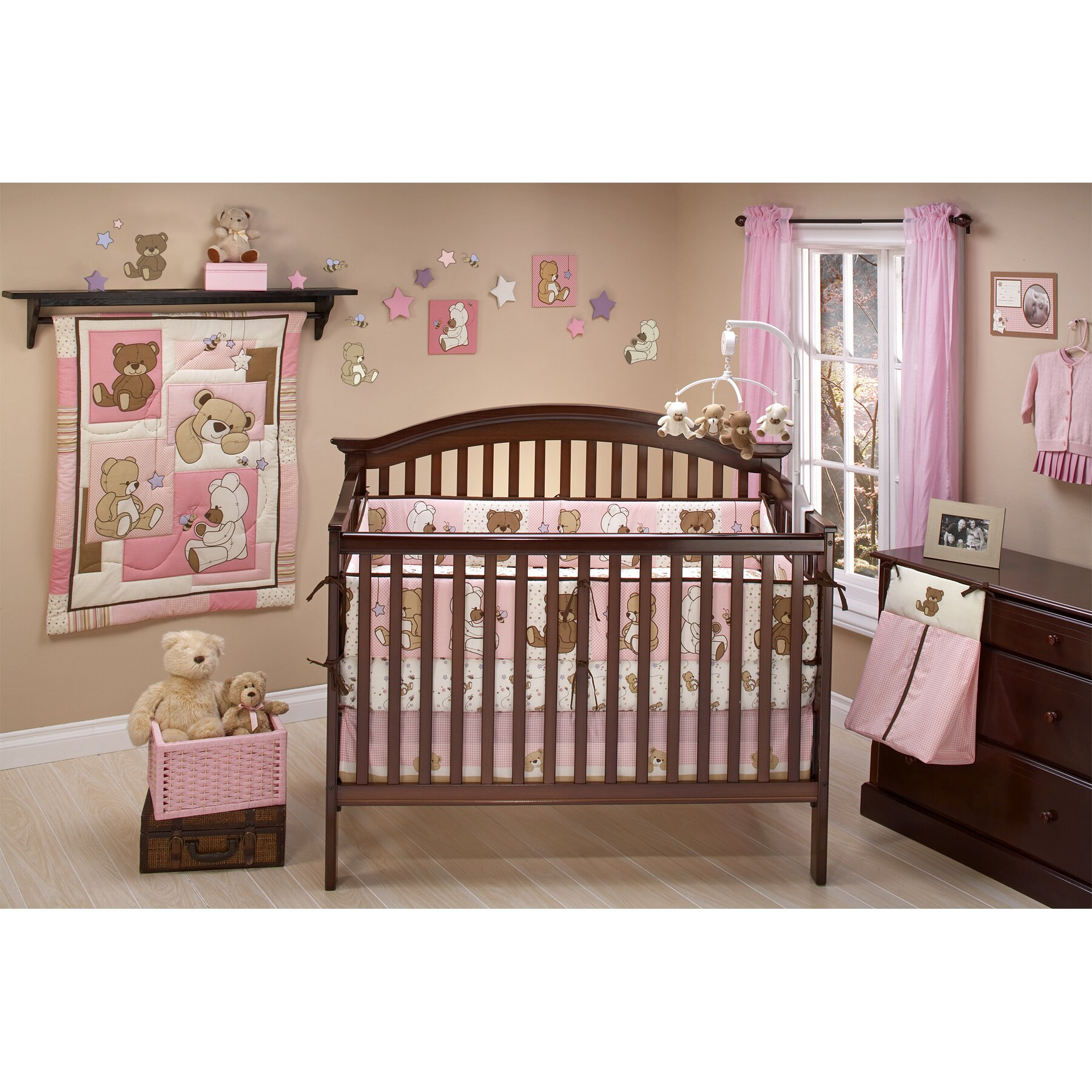 Little Bedding Dreamland Teddy 10 Piece Crib Bedding Set ...