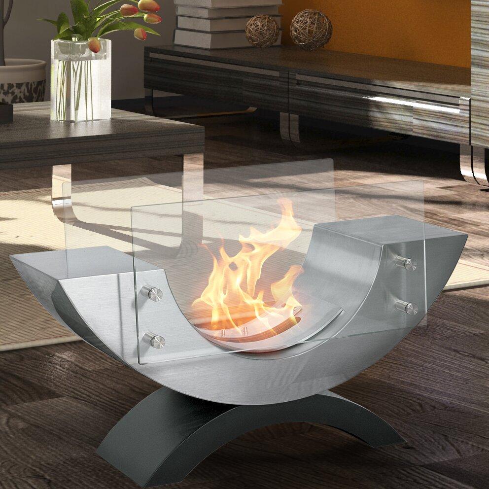 Aquafires Half Ellipse Bio Ethanol Tabletop Fireplace Wayfair
