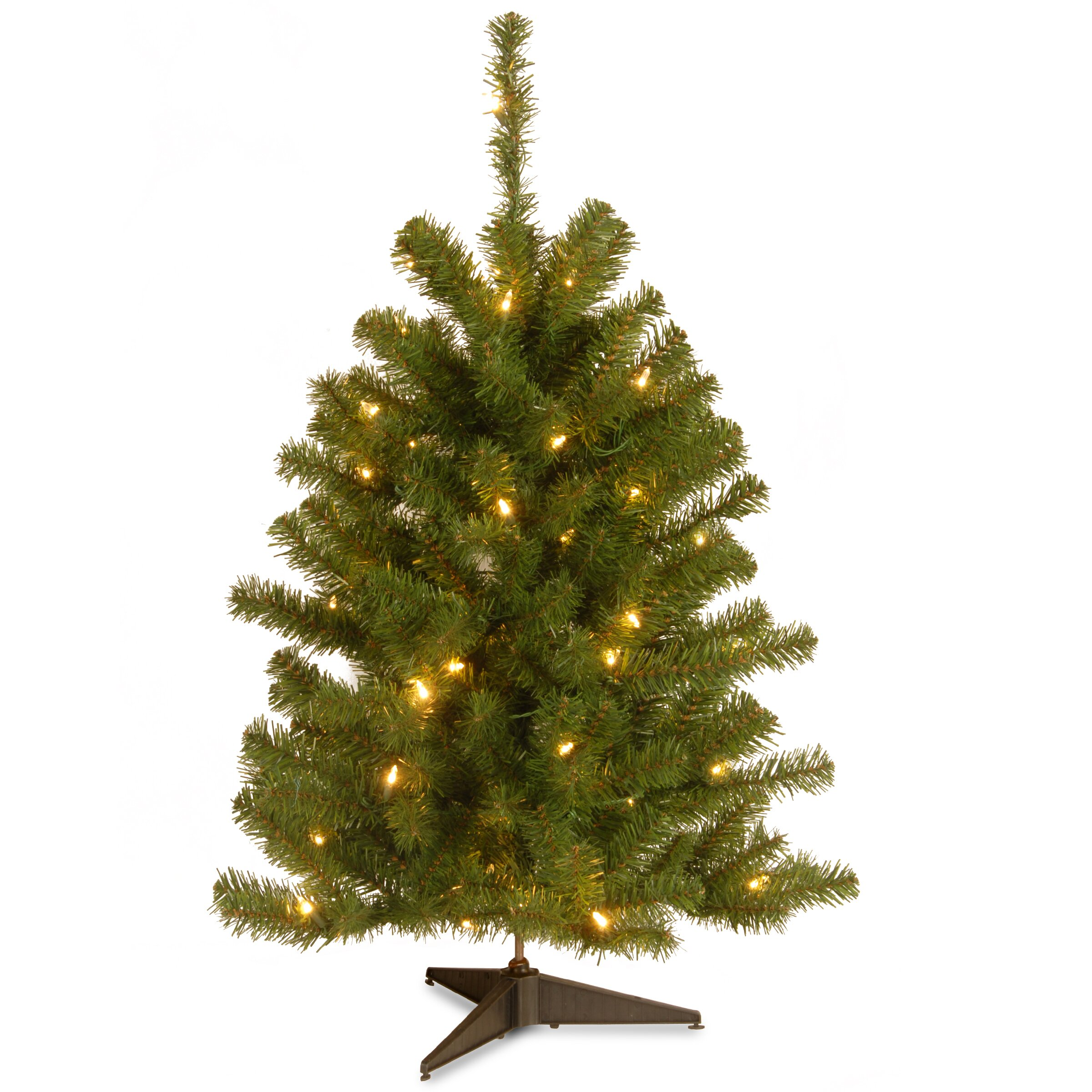 National Tree Co Eastern Spruce Pre Lit 3 39 Green