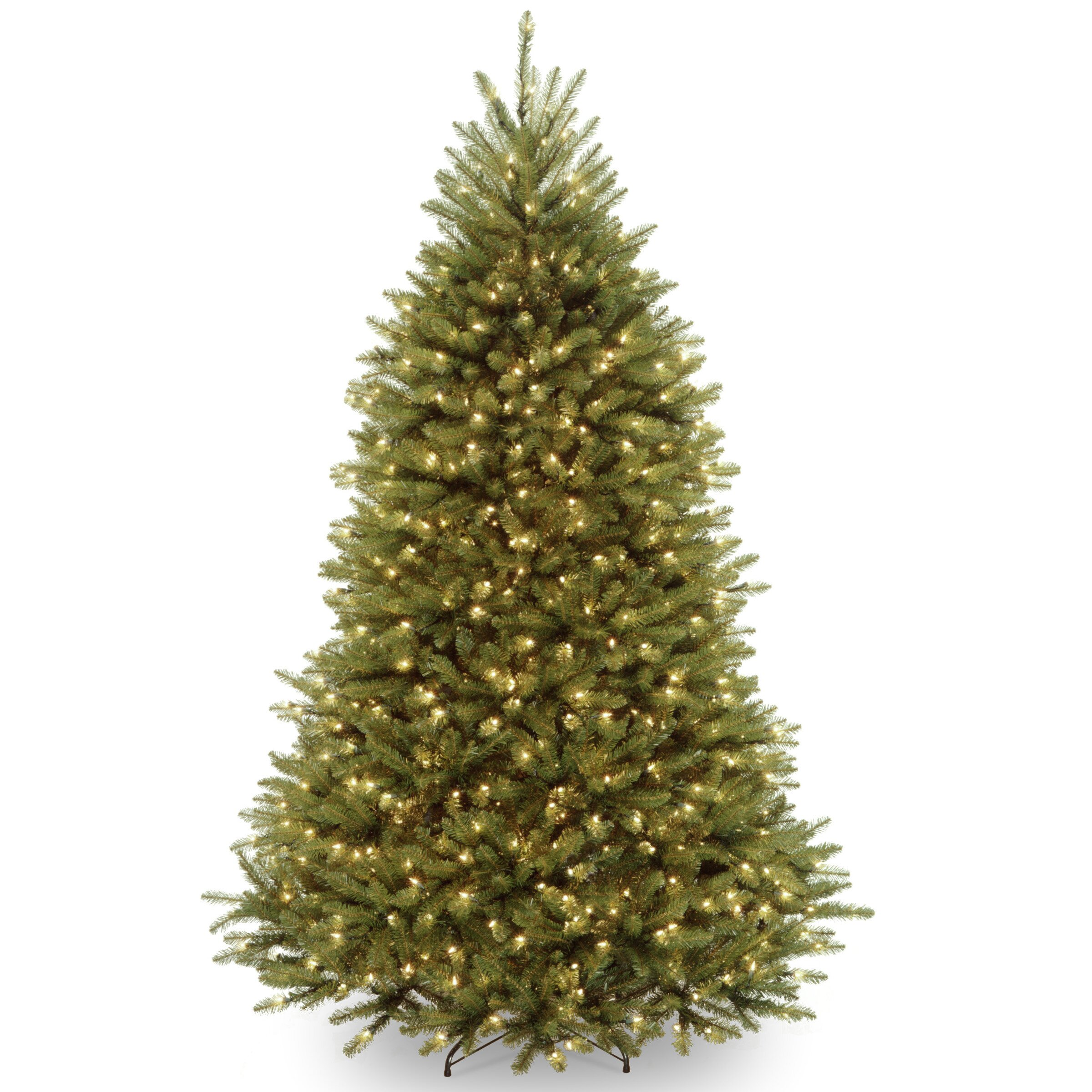 National Tree Co. Dunhill Fir 7' Hinged Green Artificial