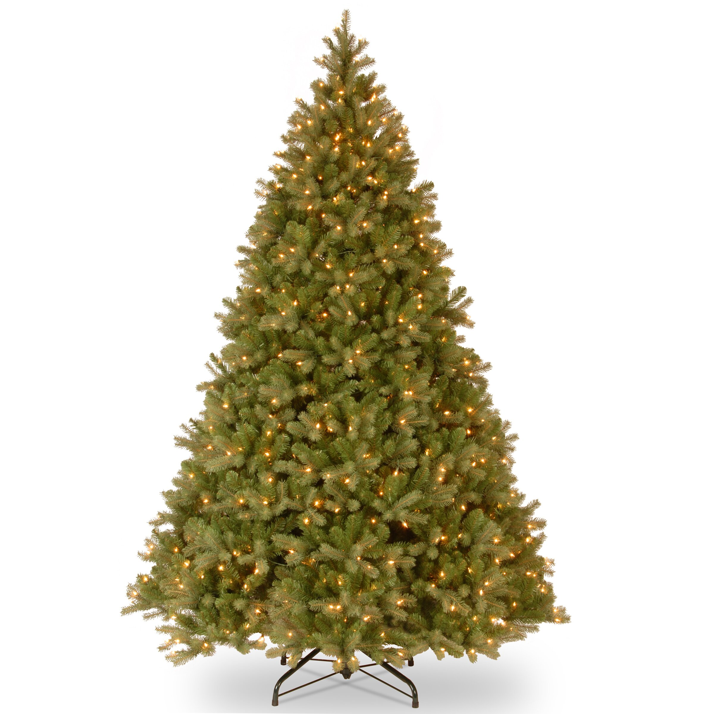National tree co downswept douglas fir 9 green evergreen for Lit national