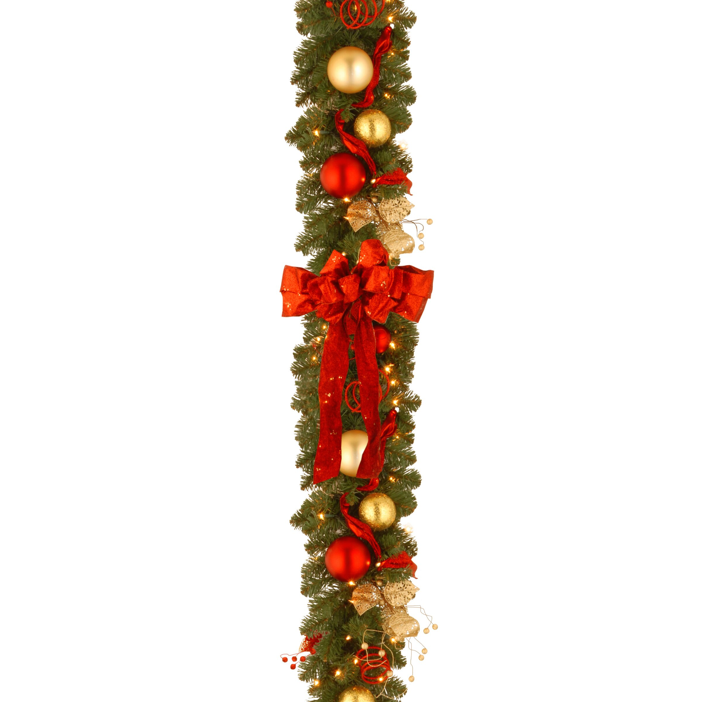 Pre Lit Christmas Tree Fuses: National Tree Co. Decorative Pre-Lit Cozy Christmas