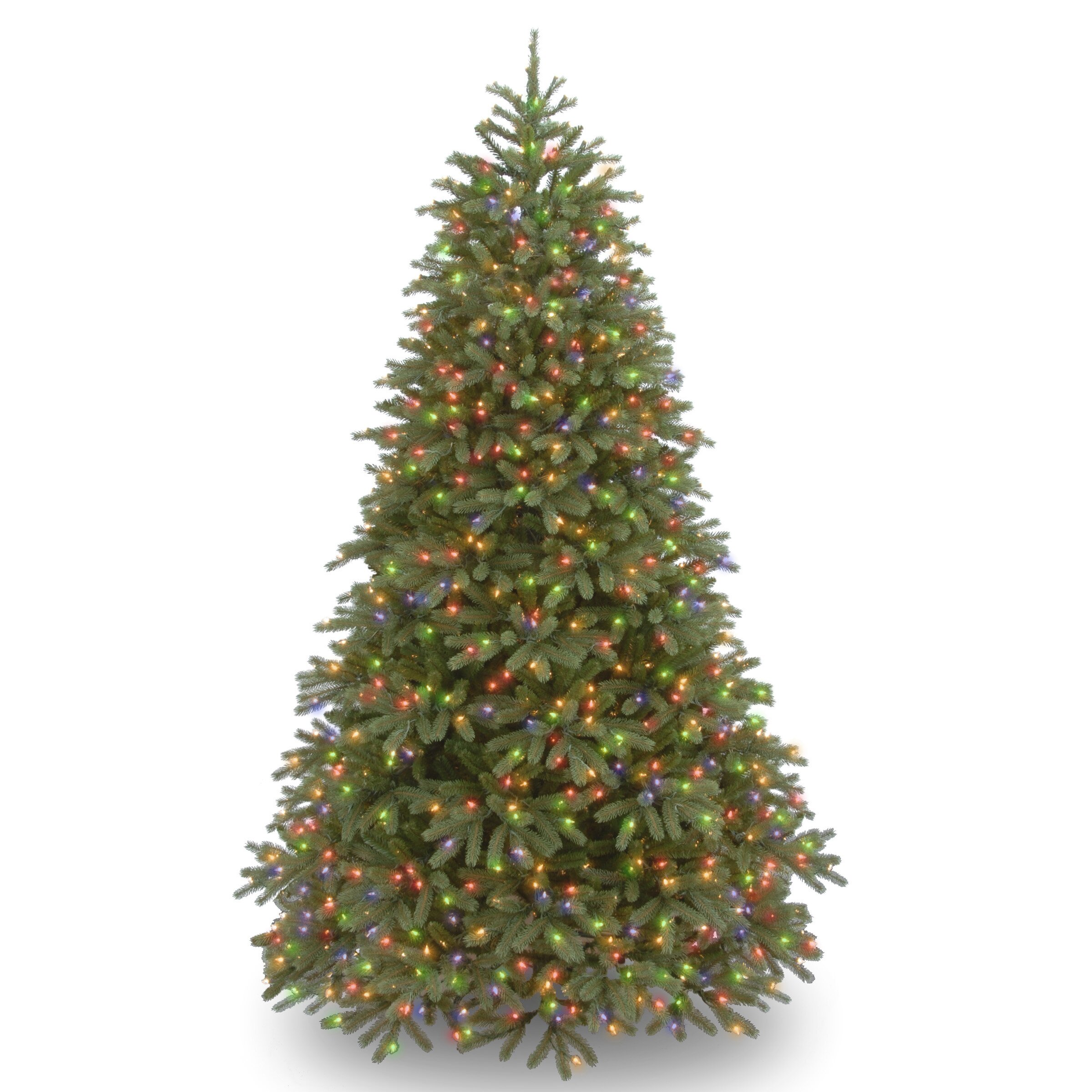 National Tree Co. Jersey Fraser Fir 7.5' Green Fir ...