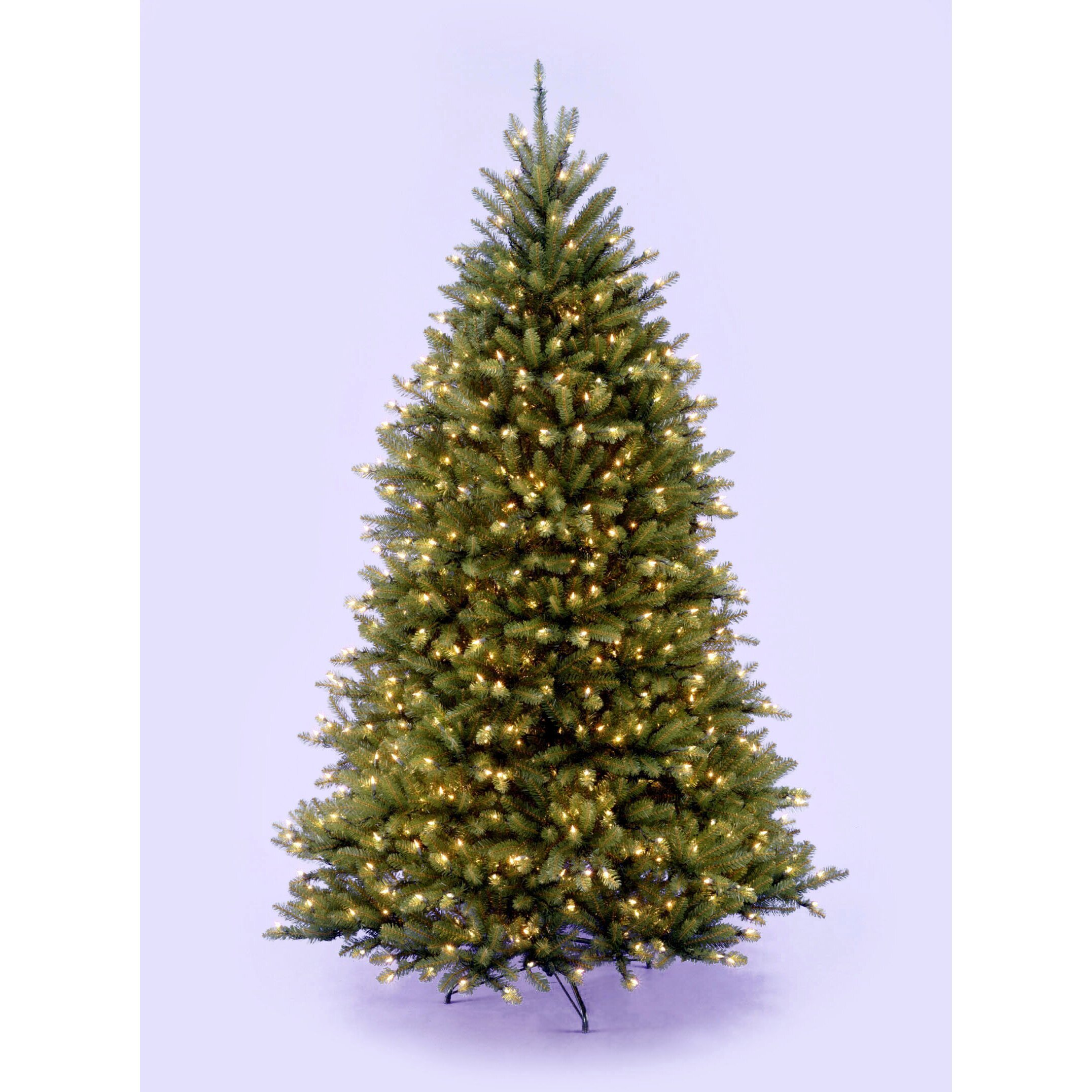 National Tree Co Dunhill Fir 7 5 39 Hinged Artificial