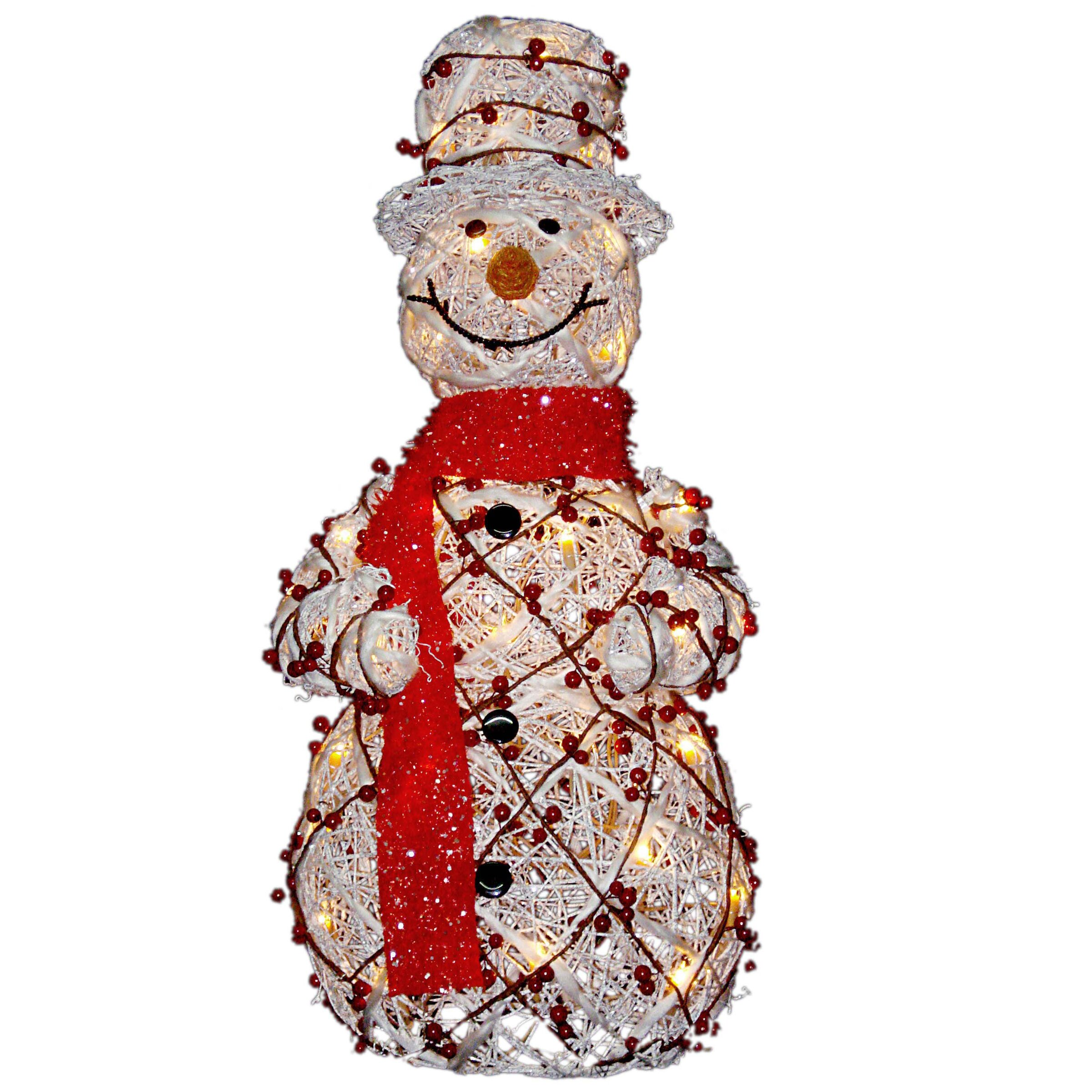 National tree co decorative d cor snowman christmas for Decoration murale wayfair