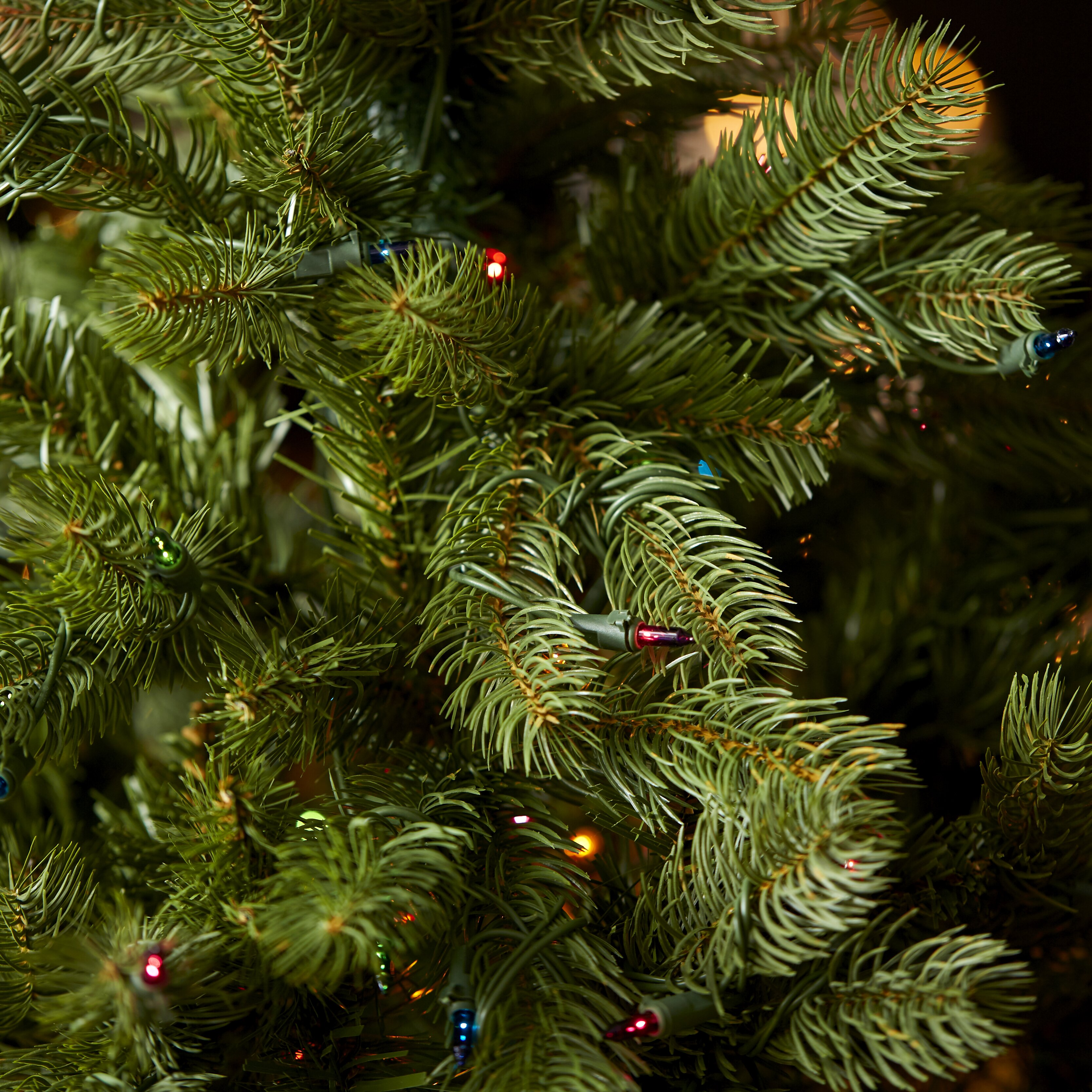 Douglas Fir Artificial Christmas Trees: National Tree Co. Douglas Fir Downswept 4.5' Green