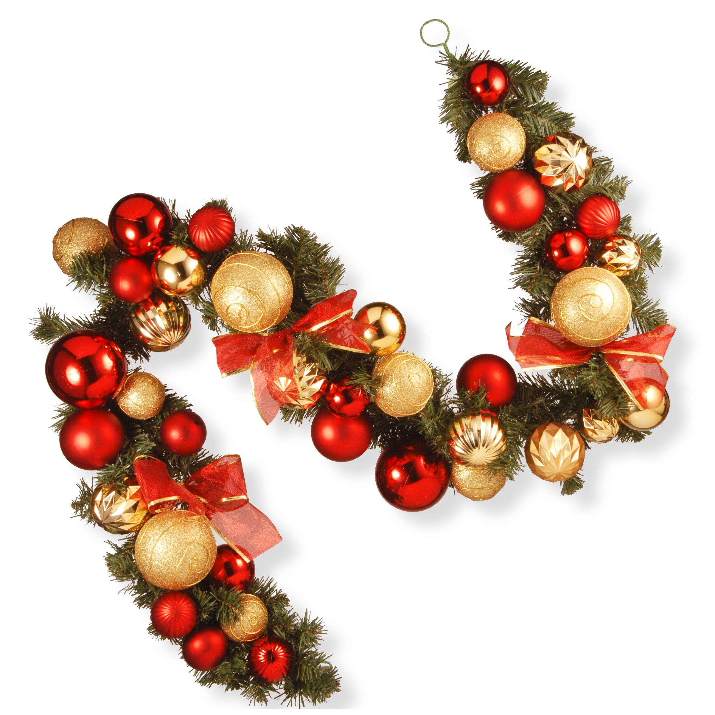 National tree co ornament garland reviews wayfair