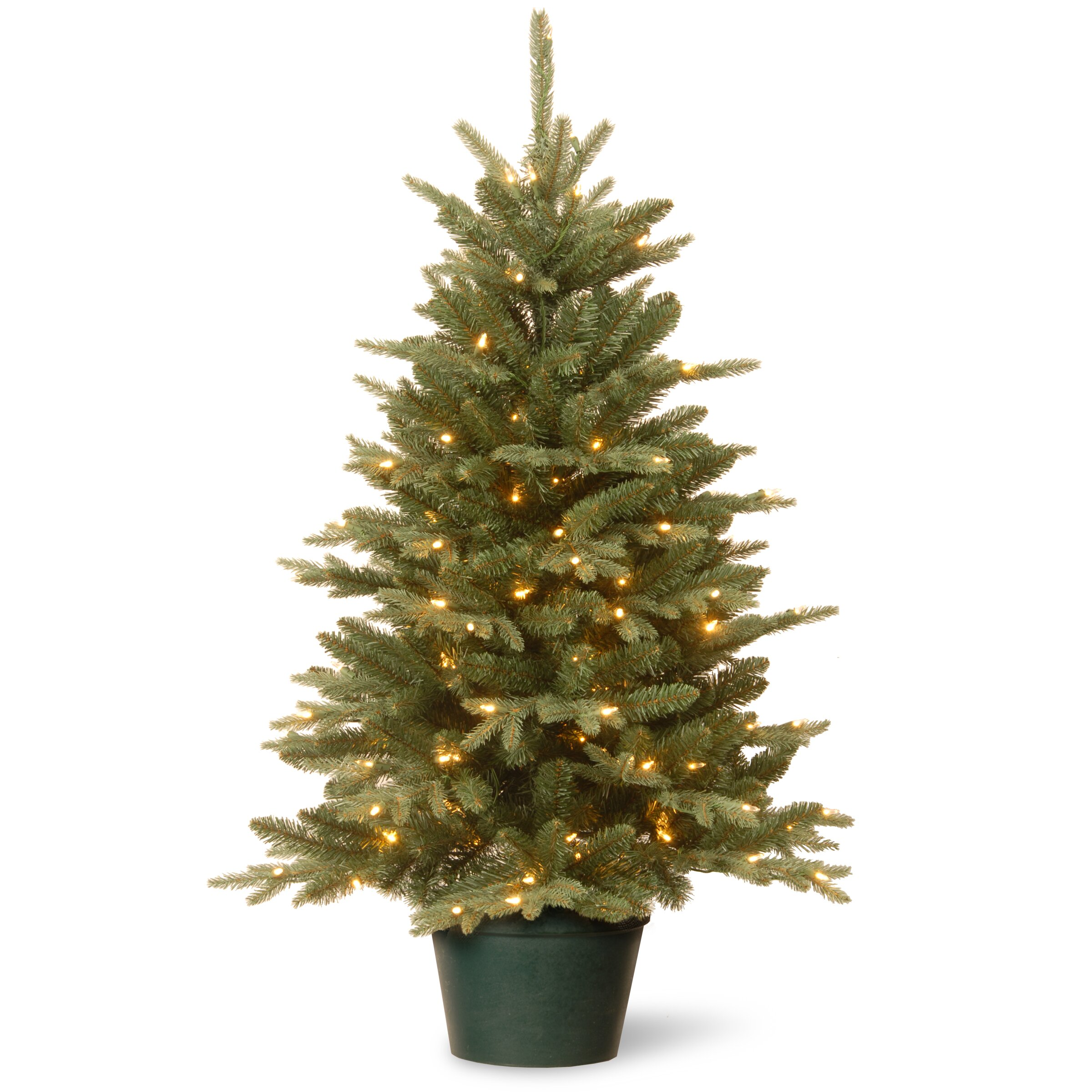 National Tree Co. Evergreen 3' Green Artificial Christmas ...