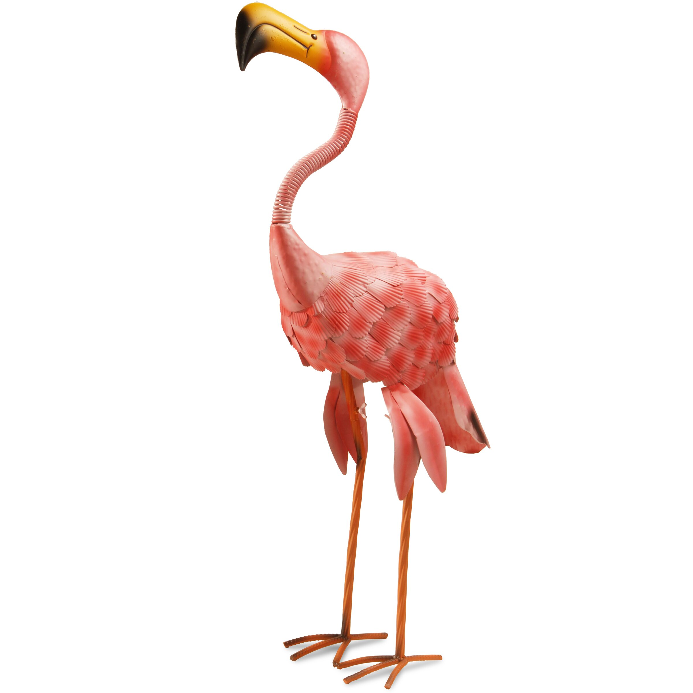 National tree co garden flamingo statue reviews wayfair for Garden accessories canada