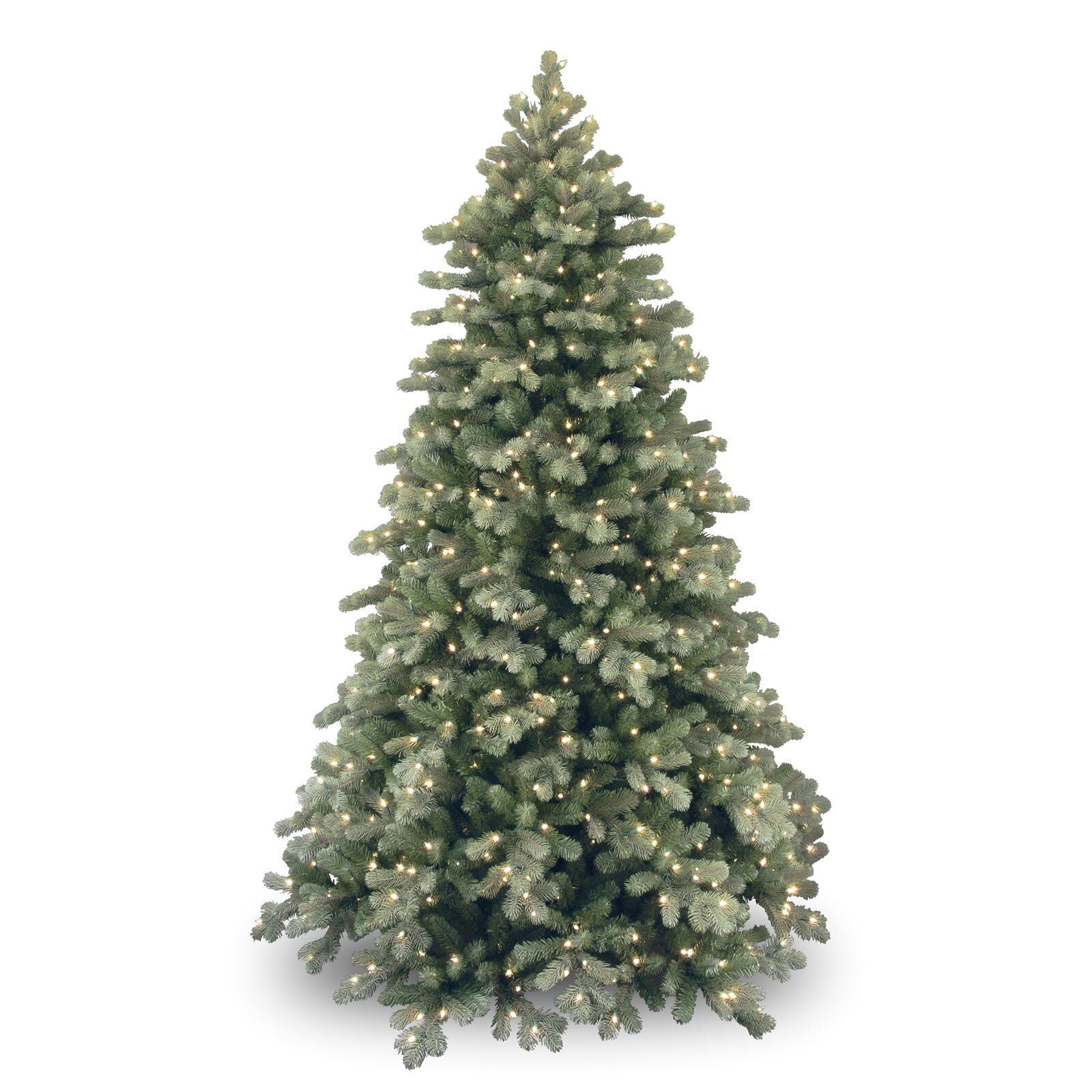 National Tree Co 7 5 Colorado Spruce Frosted Artificial