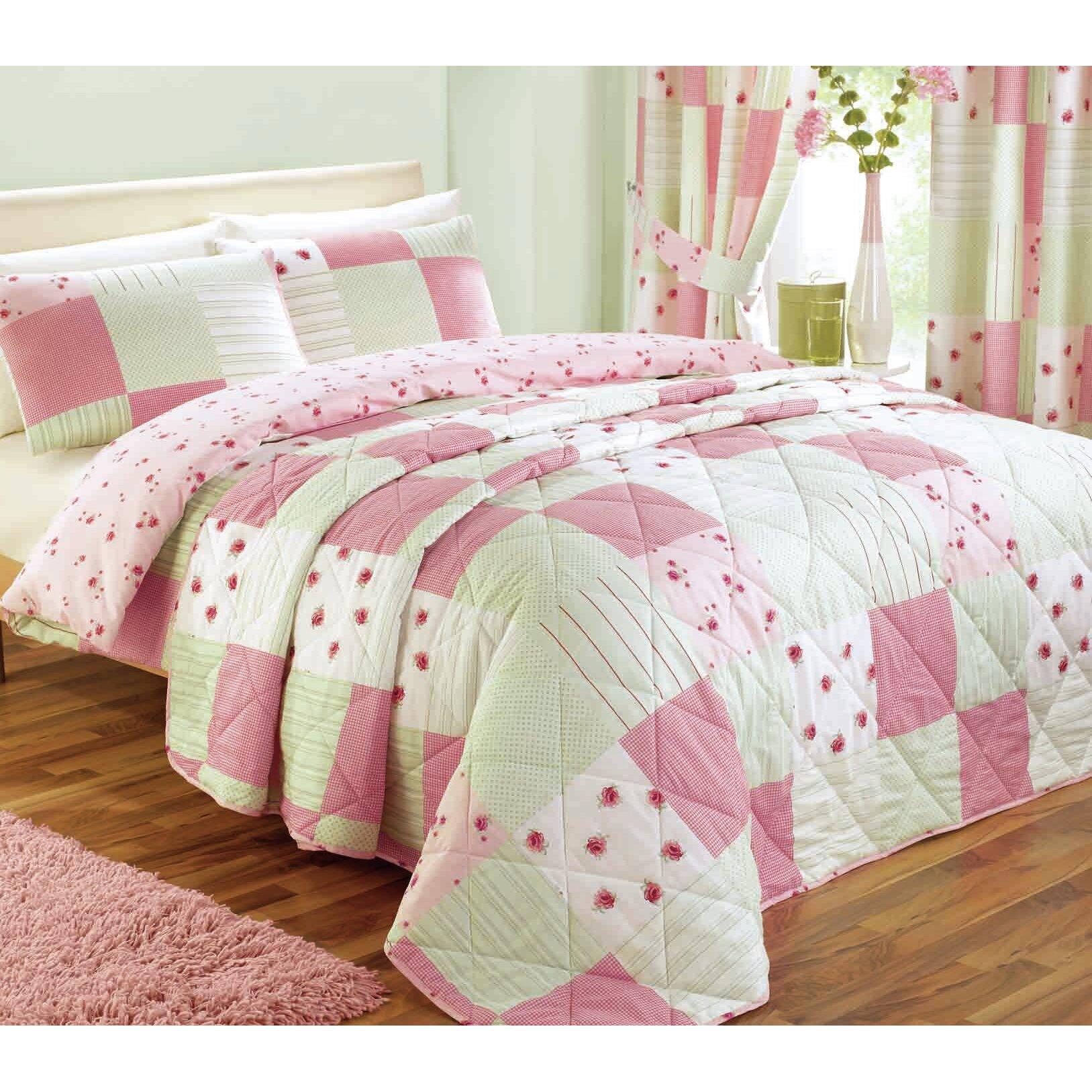 Dreams n drapes patchwork bedspread