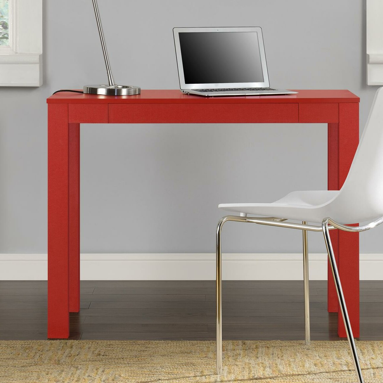 Altra Parsons Study Desk With Drawer Unboxing End Table ...